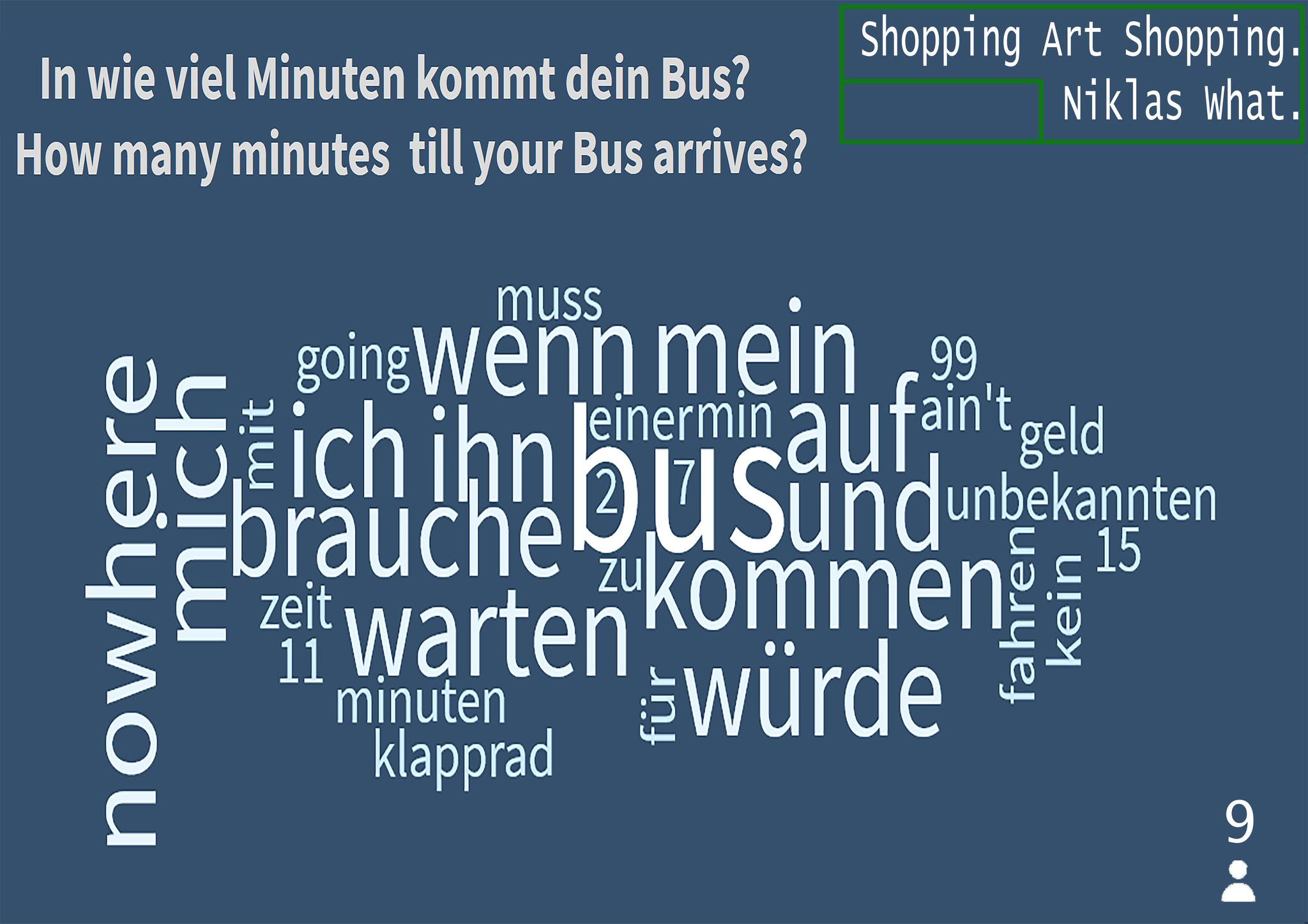 """Survey Art: Bus - Results"", 2020."