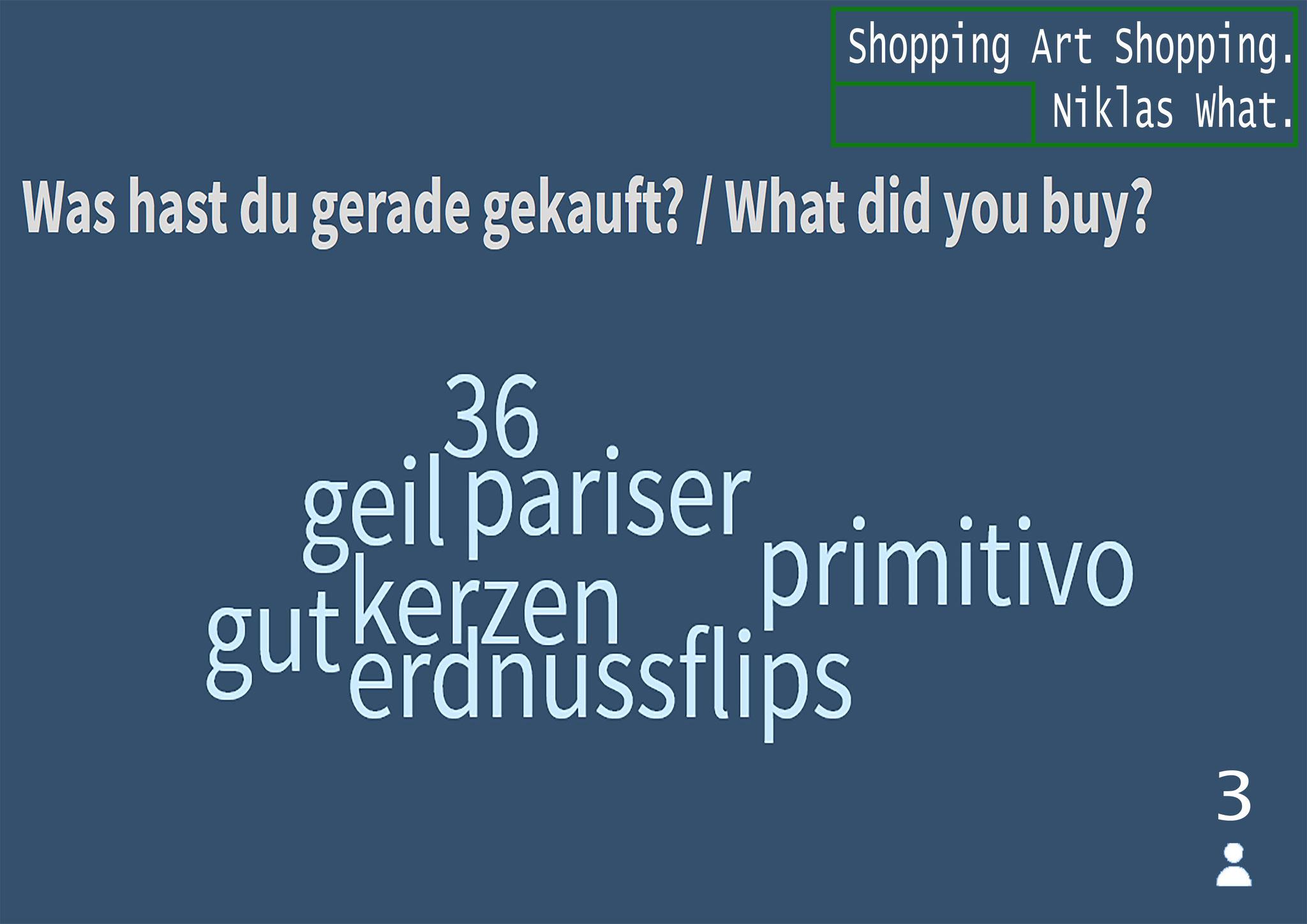 """Survey Art: Buy - Results"", 2020."