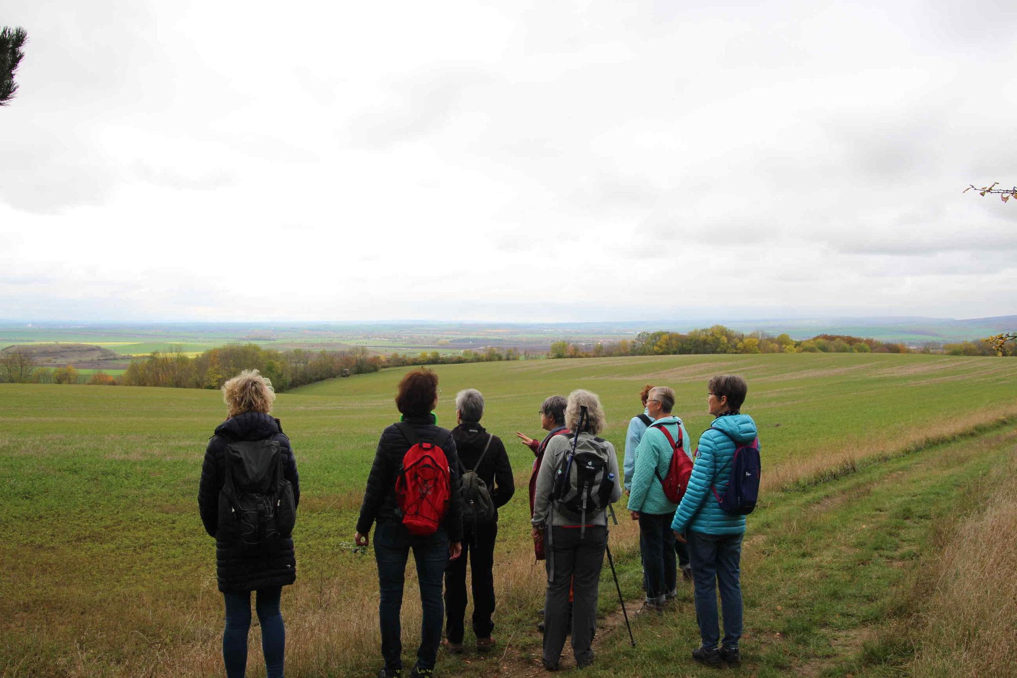Ein weiter Blick in das Thüringer Becken