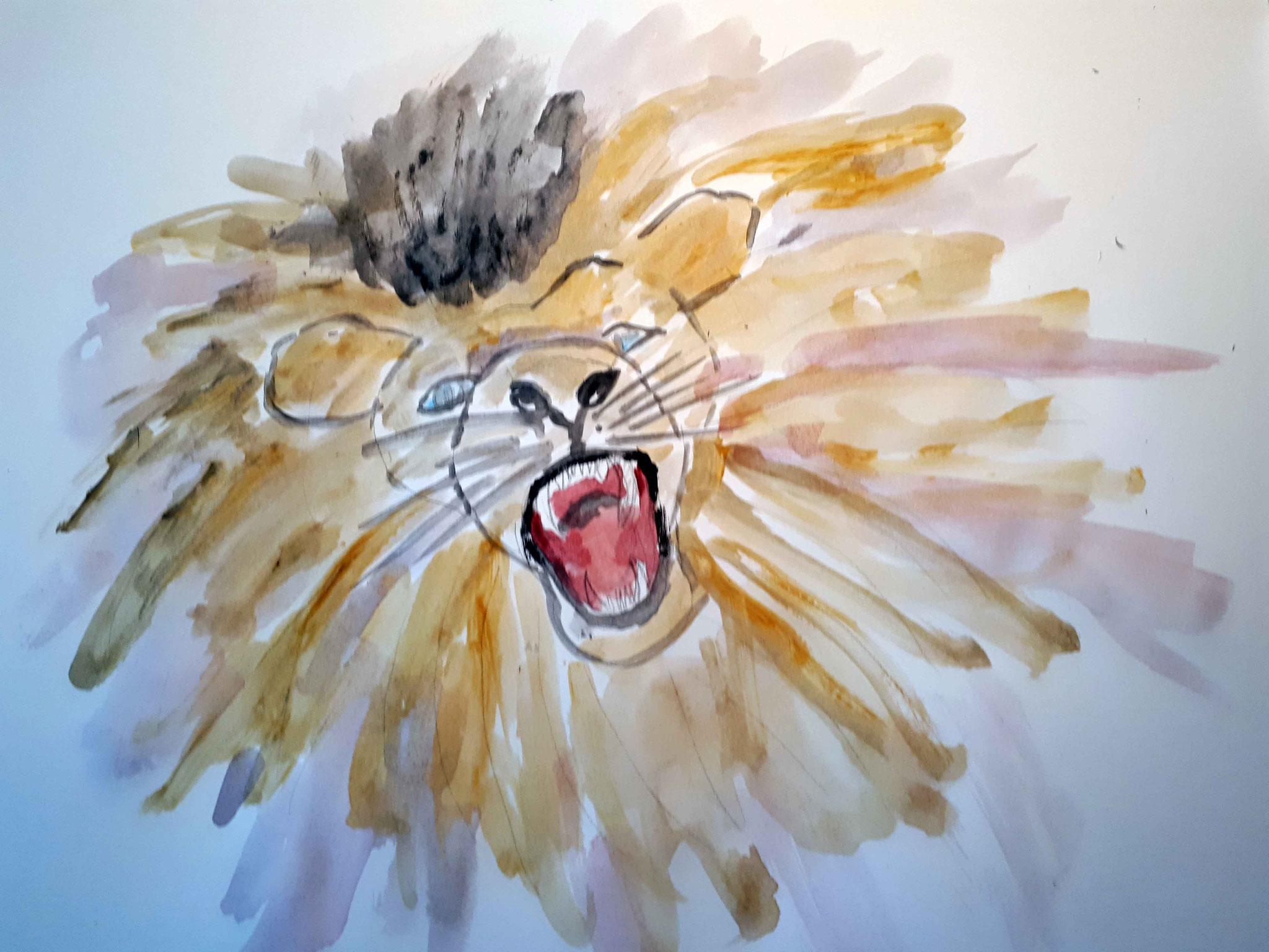 Karola und der Löwenschrei, der nicht warten konnte