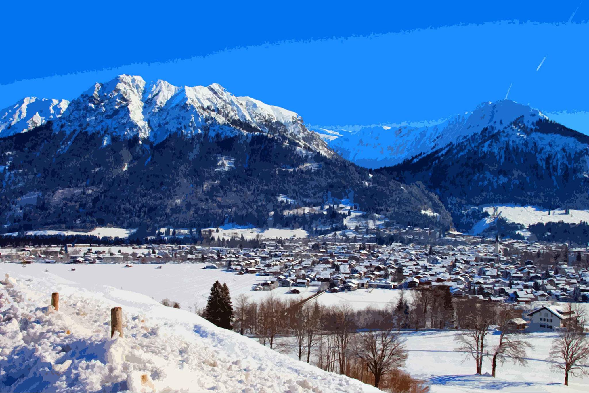Oberstdorf – ein Wintermärchen, Nebelhorn Skifahren