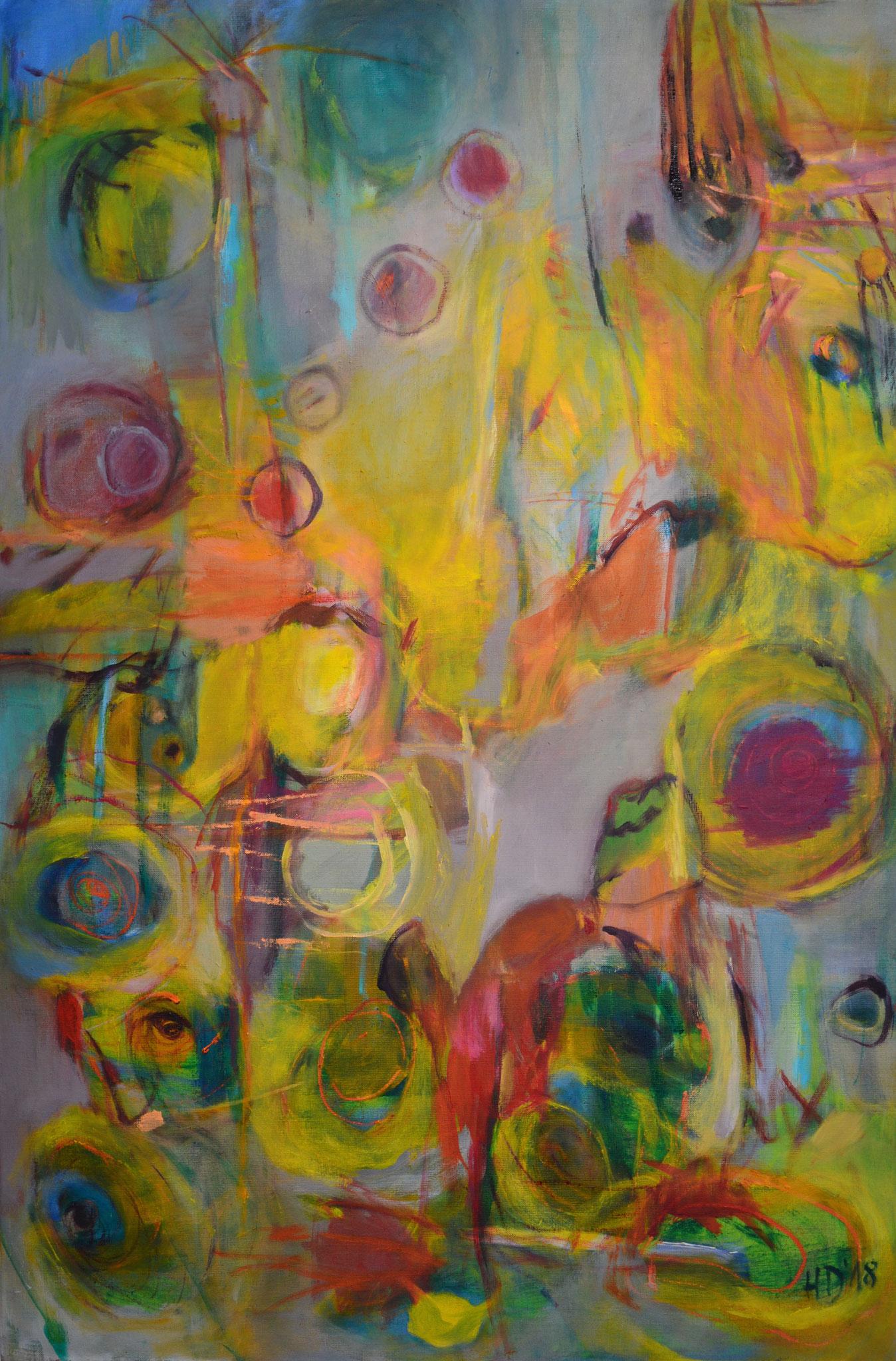 Irritation, 2018, Öl auf Leinwand, 120 x 80