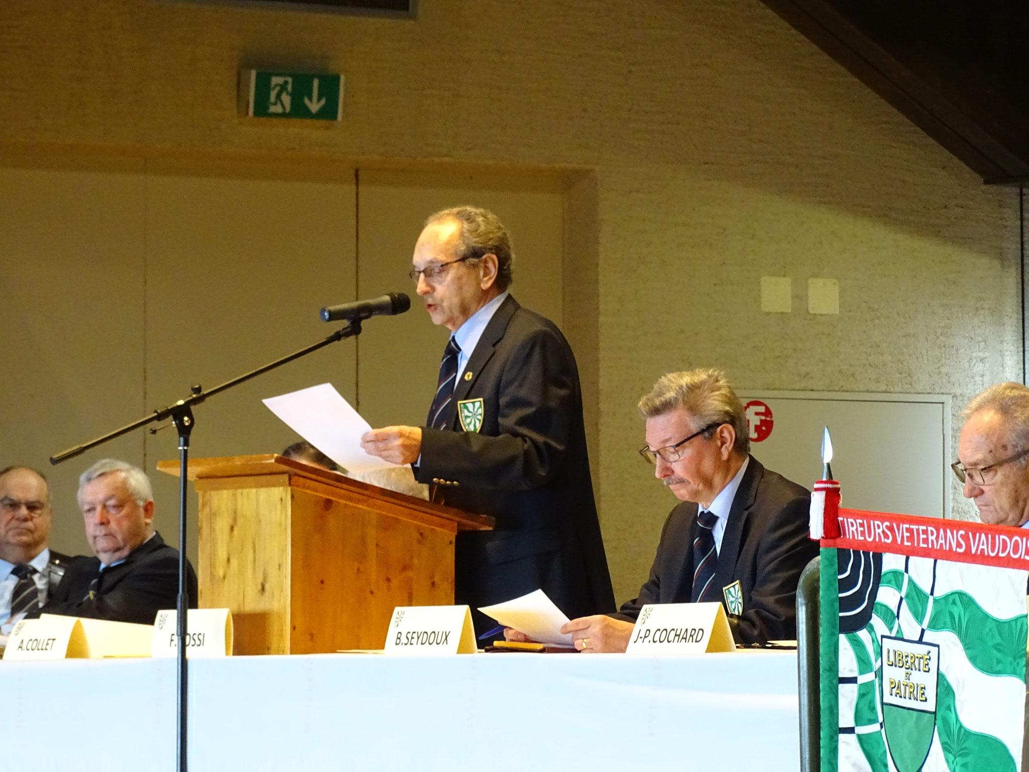 André Collet Vice-Président