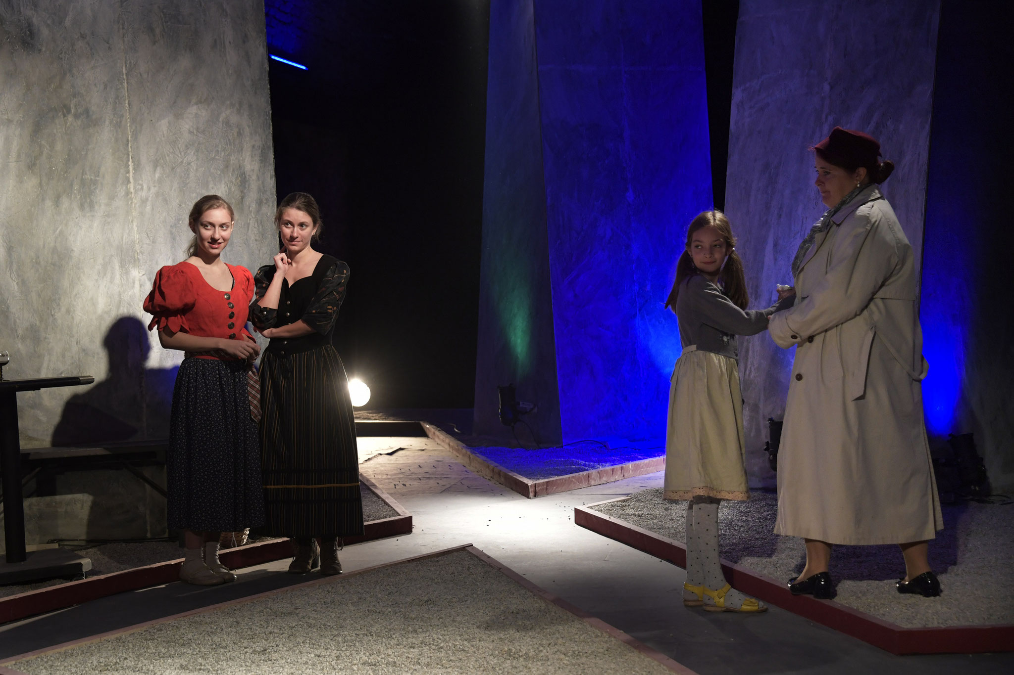 Sabine Wimmer, Barbara Wimmer, Katharina Lintner, Michaela Mekina
