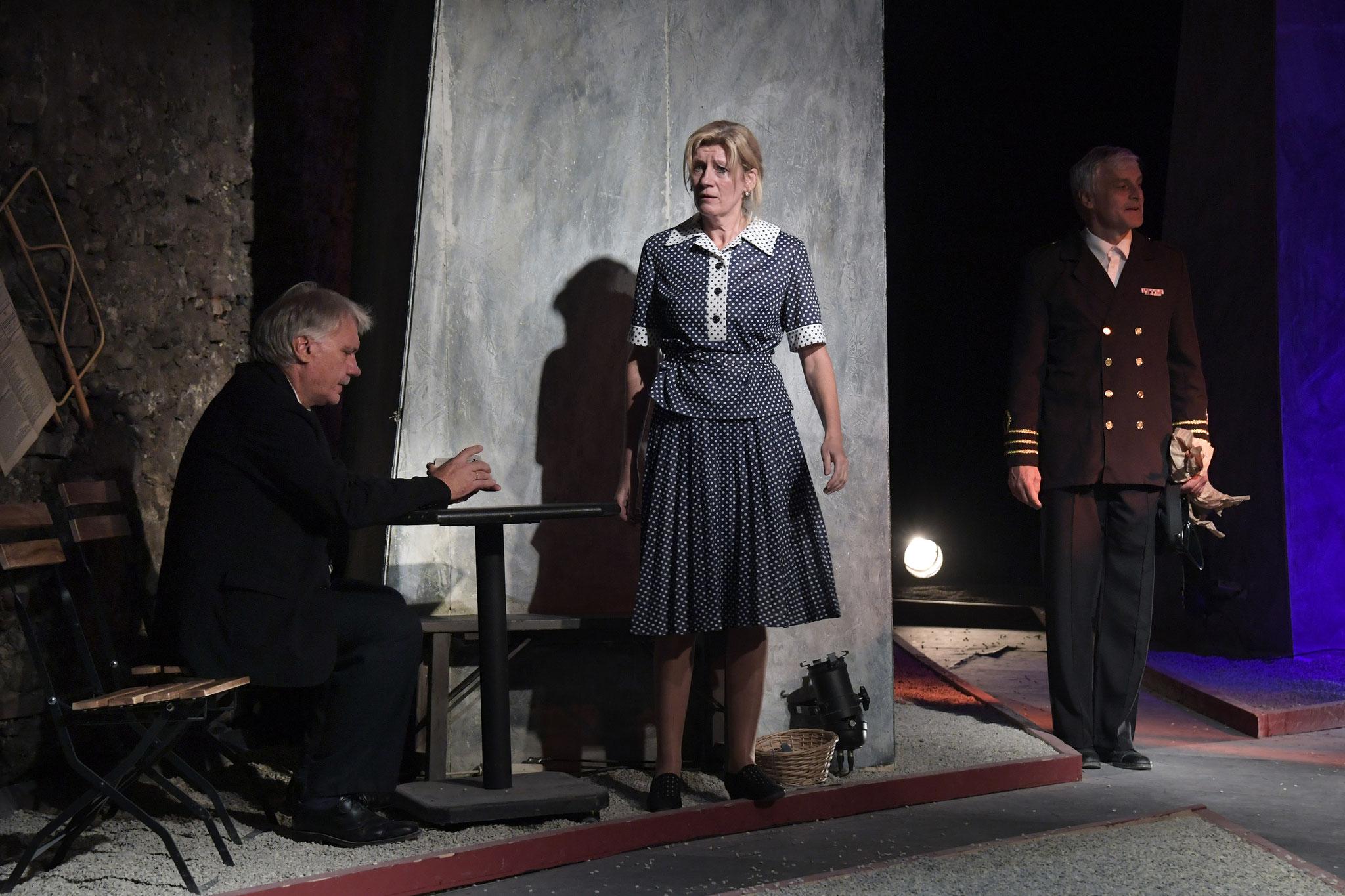 Kurt Engelmann, Petra Kamptner, Franz Rosenthaler