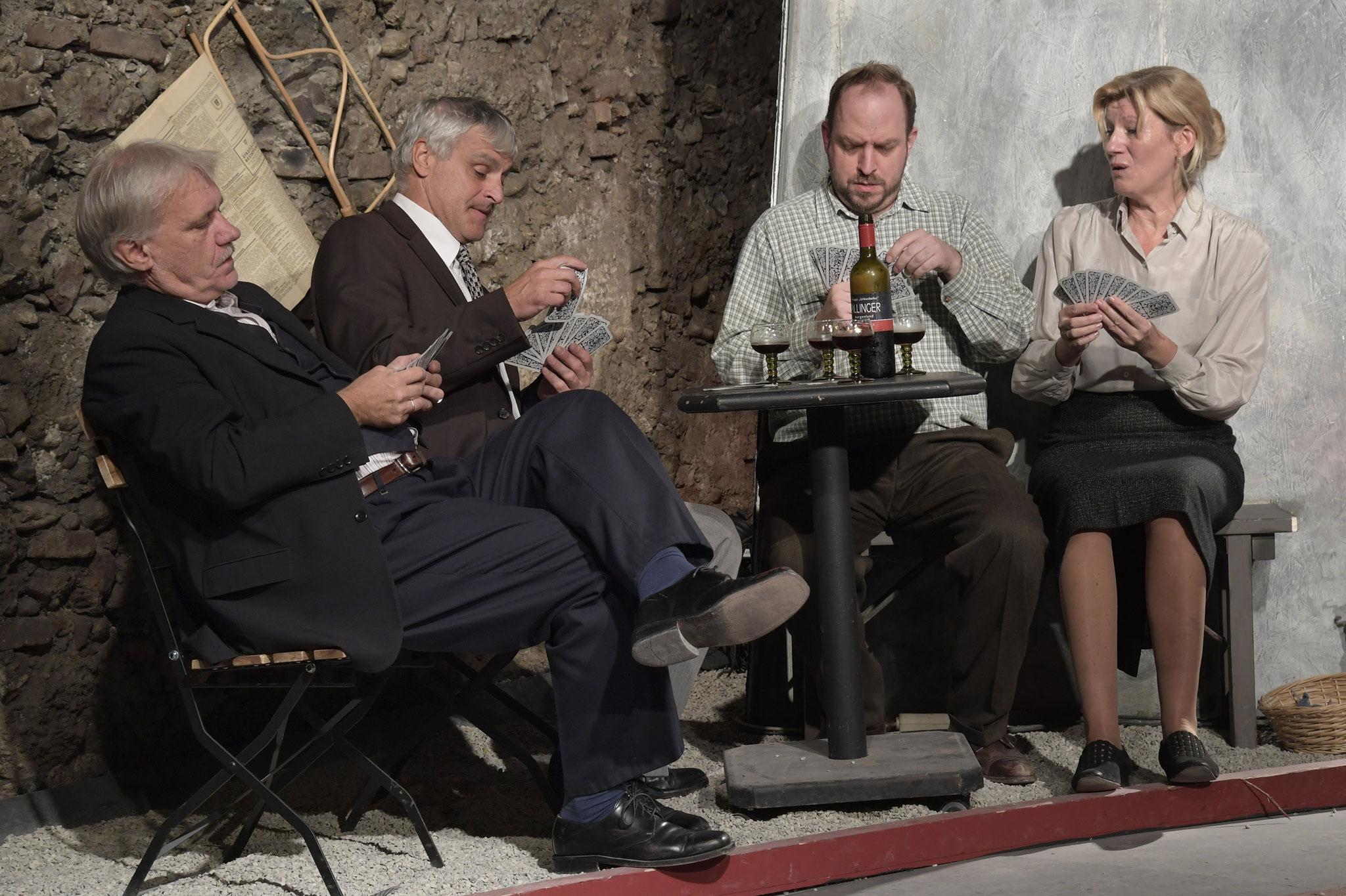 Kurt Engelmann, Franz Rosenthaler, Thomas Zimmermann, Petra Kamptner