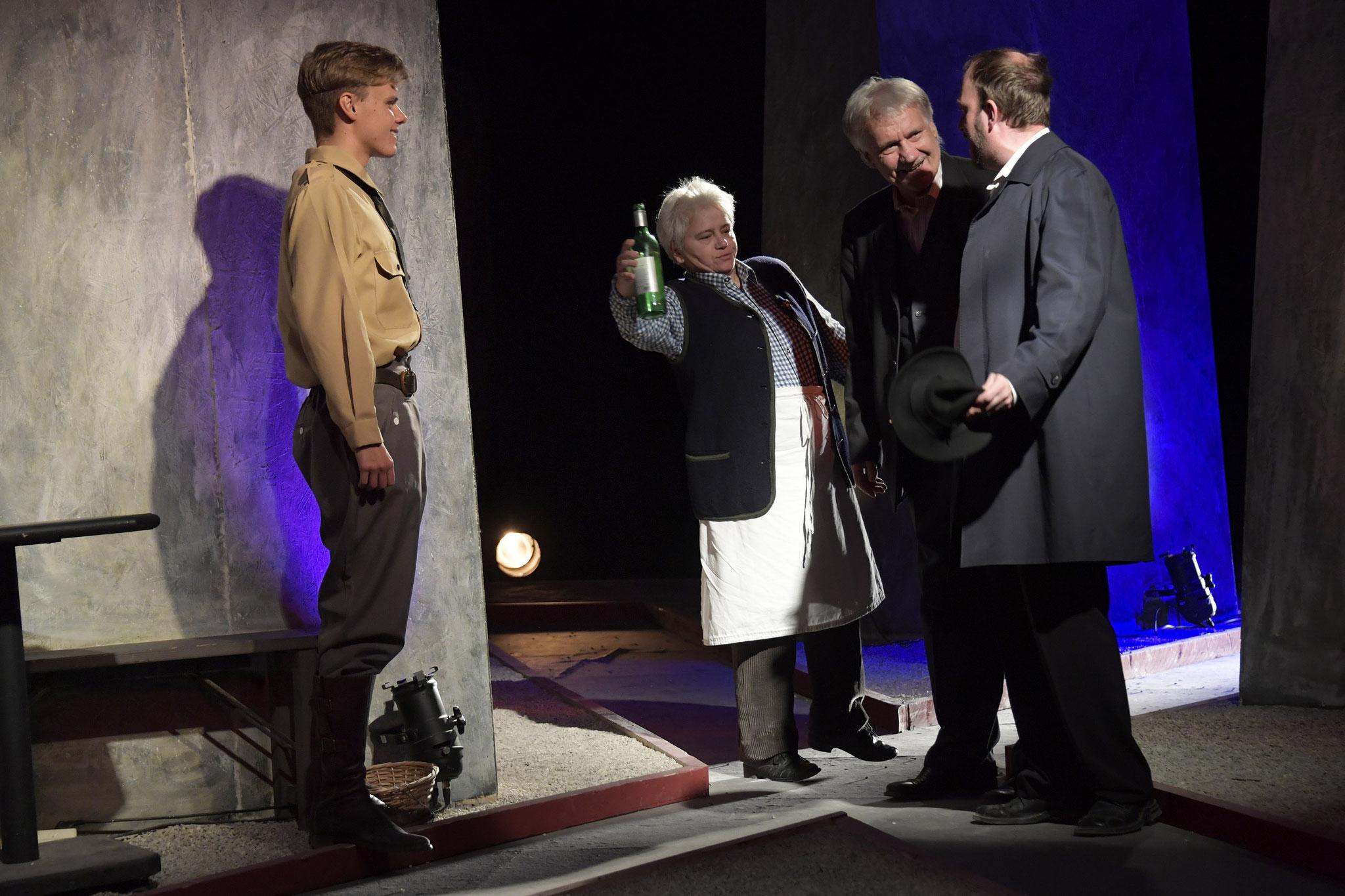 Patrick Paukner, Doris Linninger, Kurt Engelmann, Thomas Zimmermann