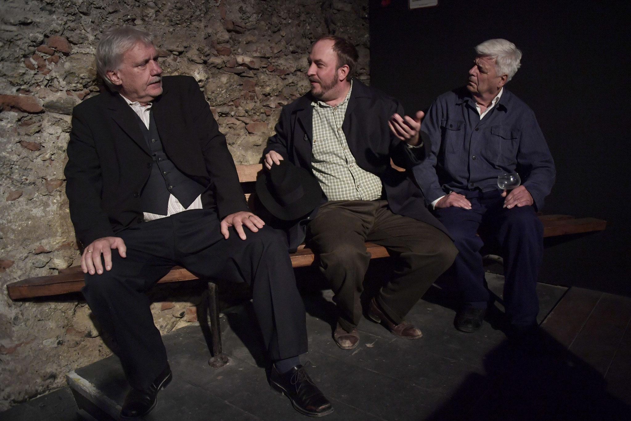 Kurt Engelmann, Thomas Zimmermann, Franz Leithenmayr