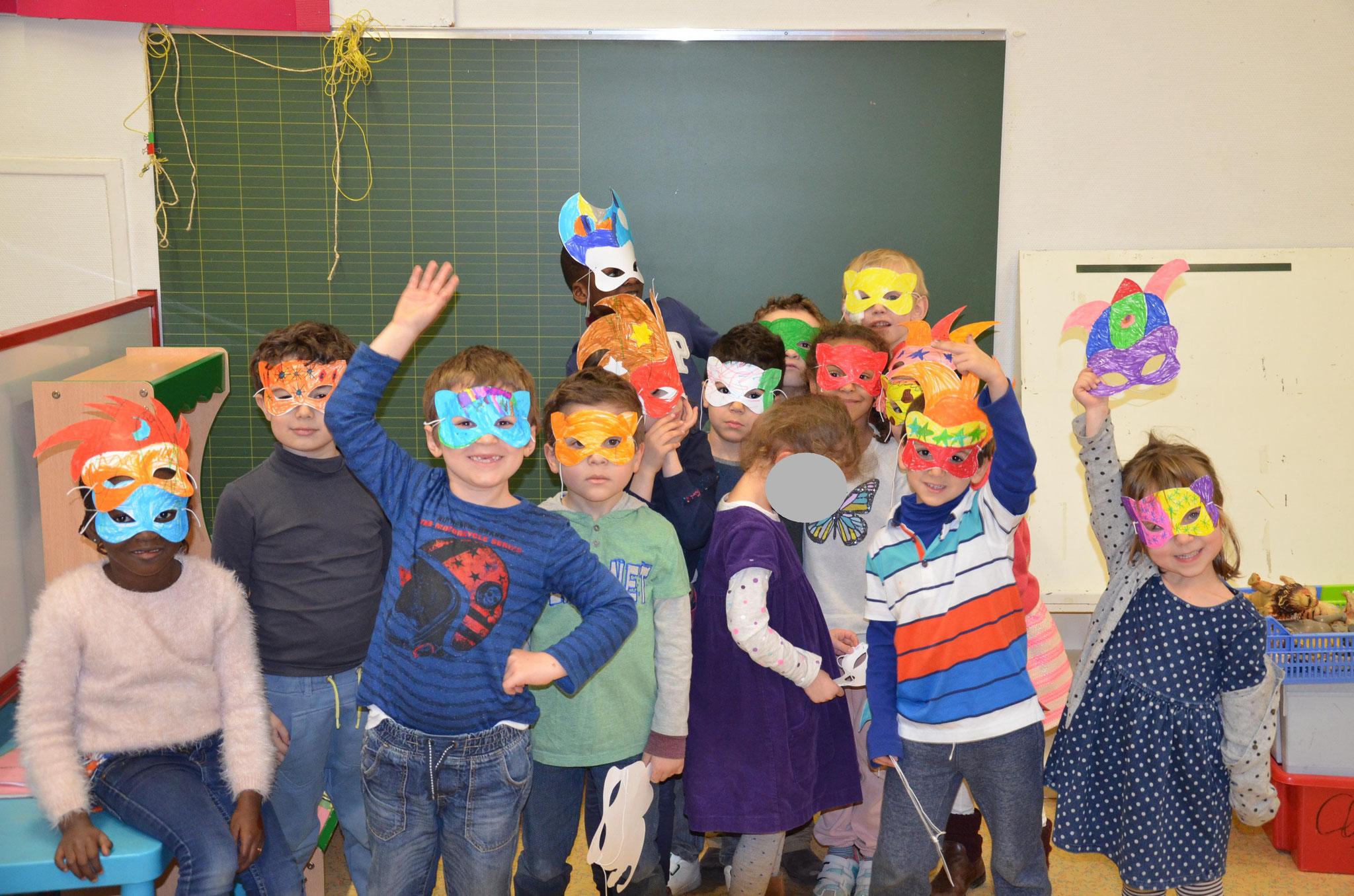Les premiers Masques de Carnaval