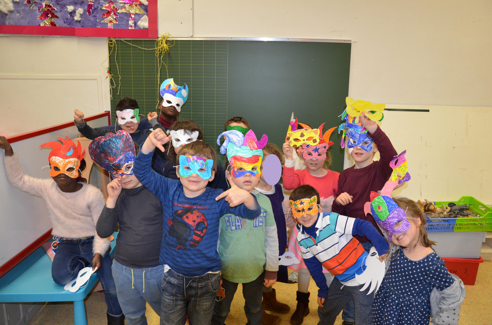 Les deuxièmes Masques de Carnaval