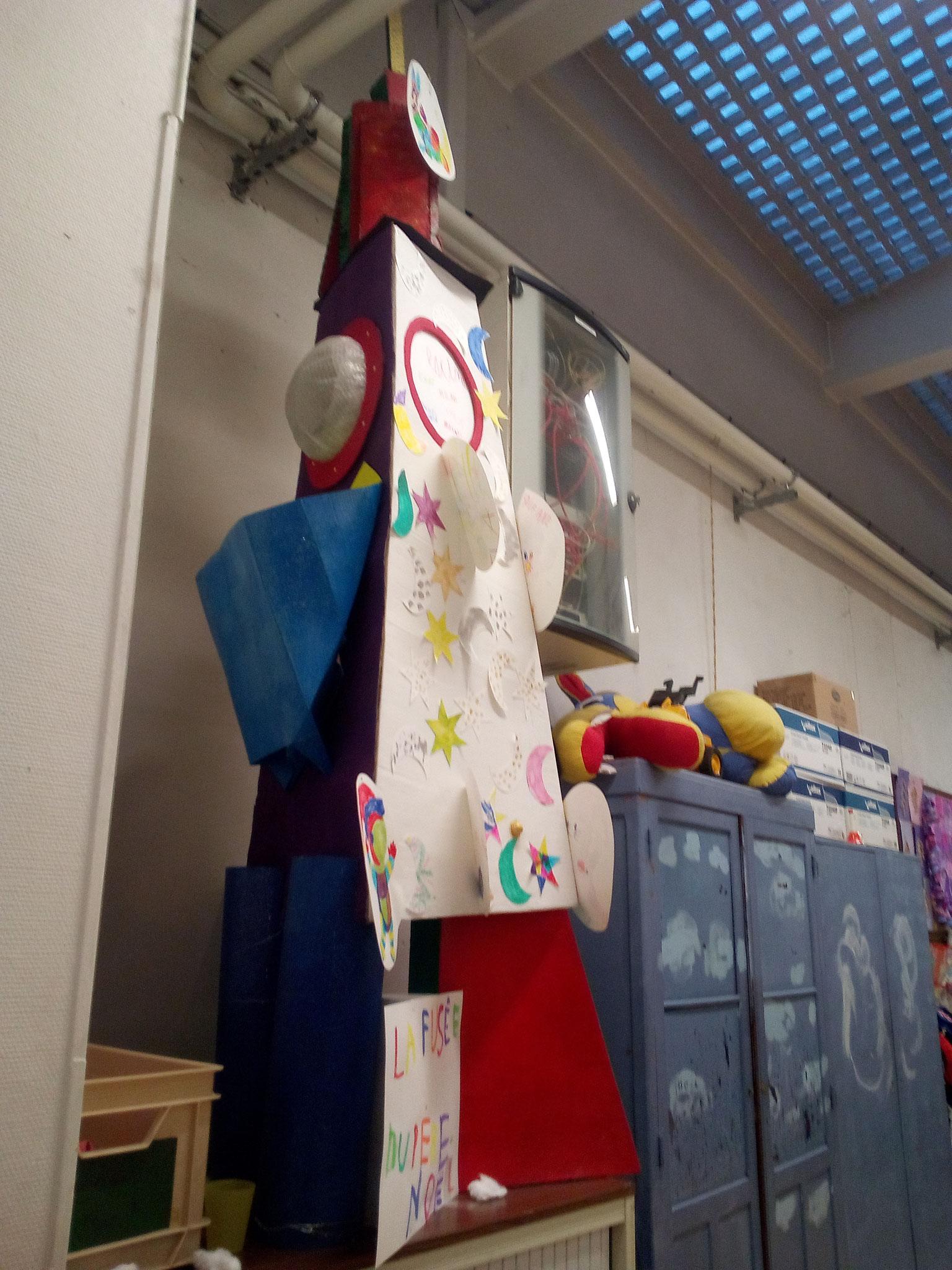 La fusée du Père Noël - Vue 3