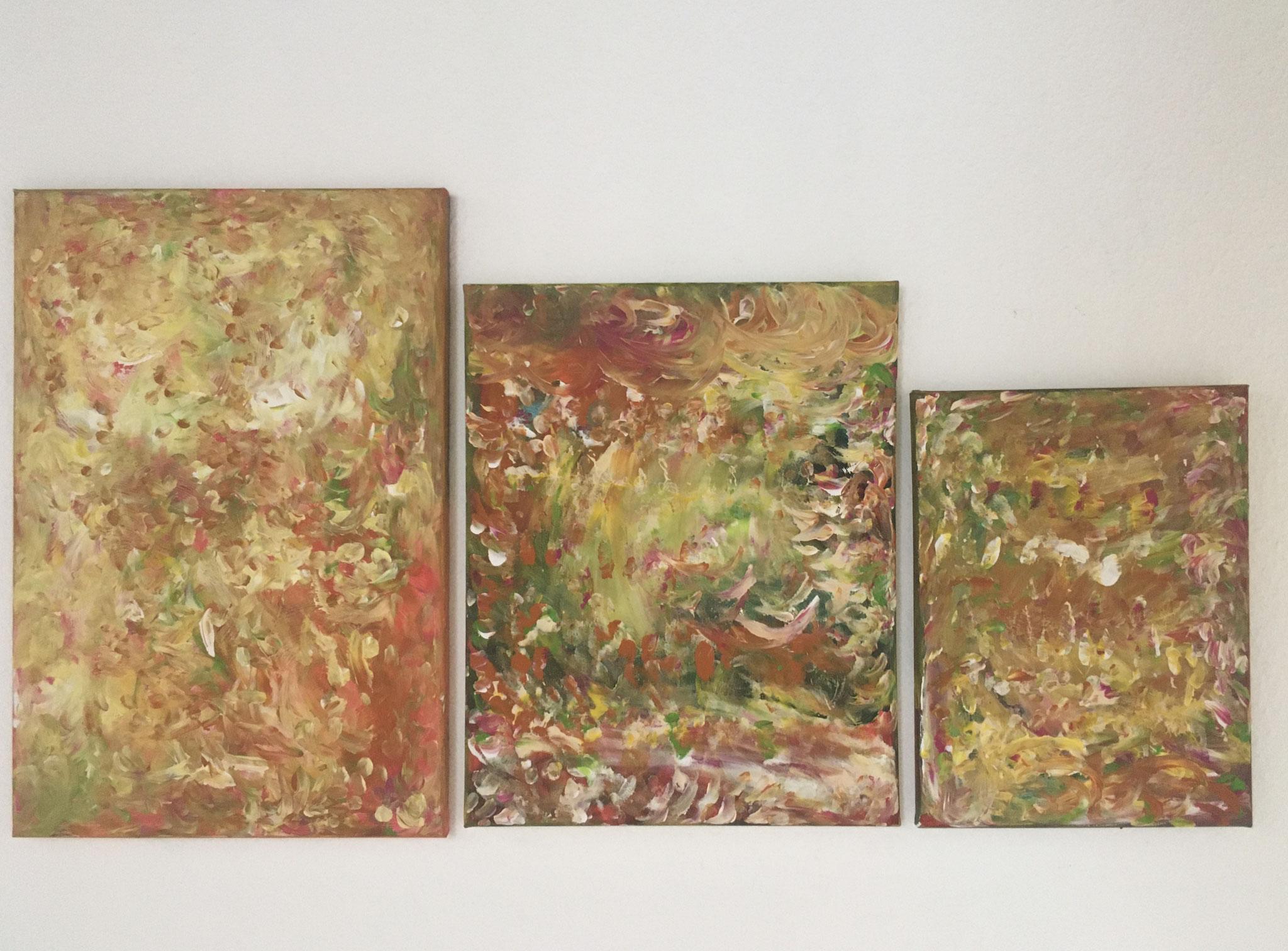 Drei Schwestern (60x40 / 50x40 / 30x40cm)