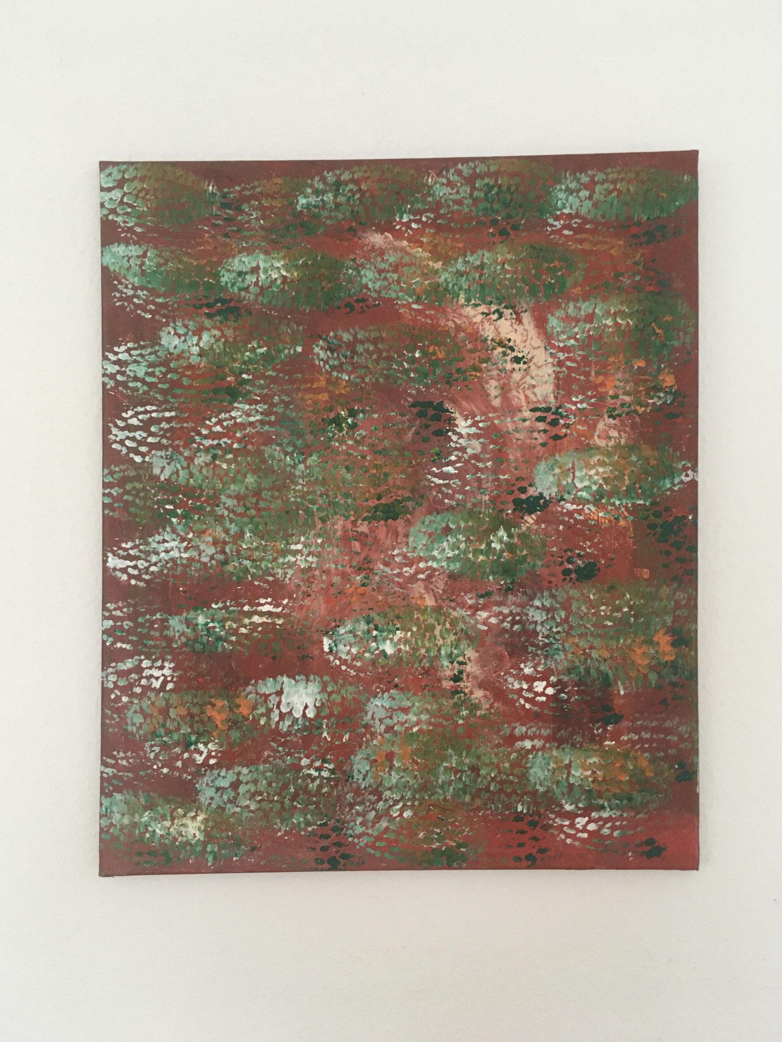 Grüner Frühling (50x60cm)