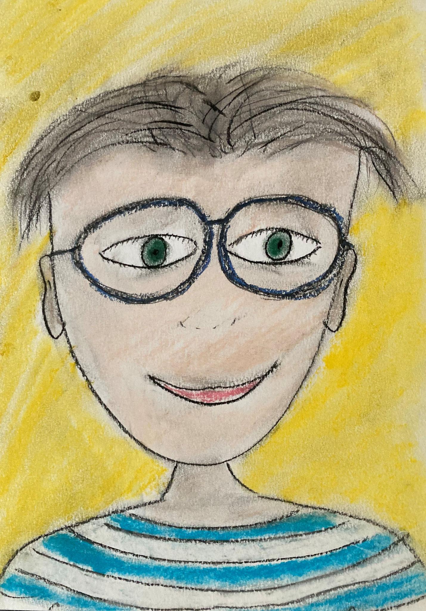 Bert mit Brille