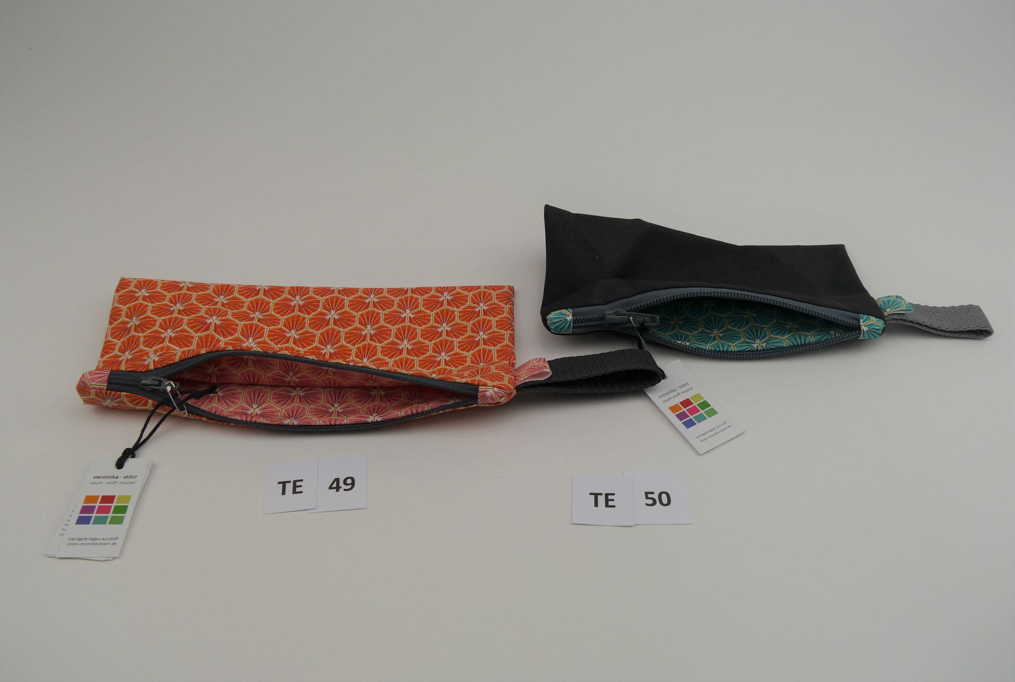 TE49 : 22 x 10 cm * AS + IS BBW * 14,90 € ---------- TE 50 : 18,5 x 9 cm * AS + IS BBW * 13,90 €