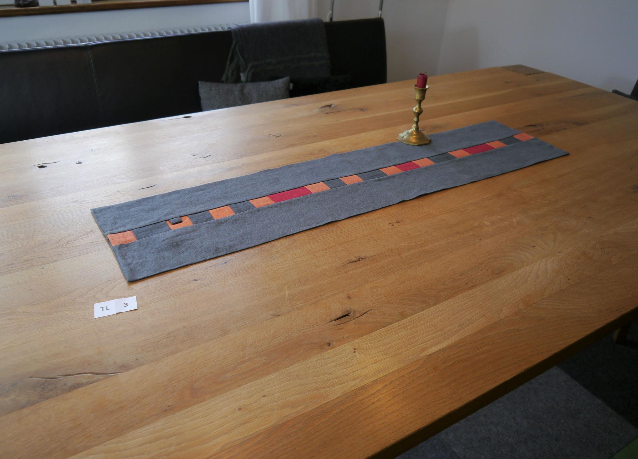 TL 3: 100 x 23 cm * Leinen * 44,90 €