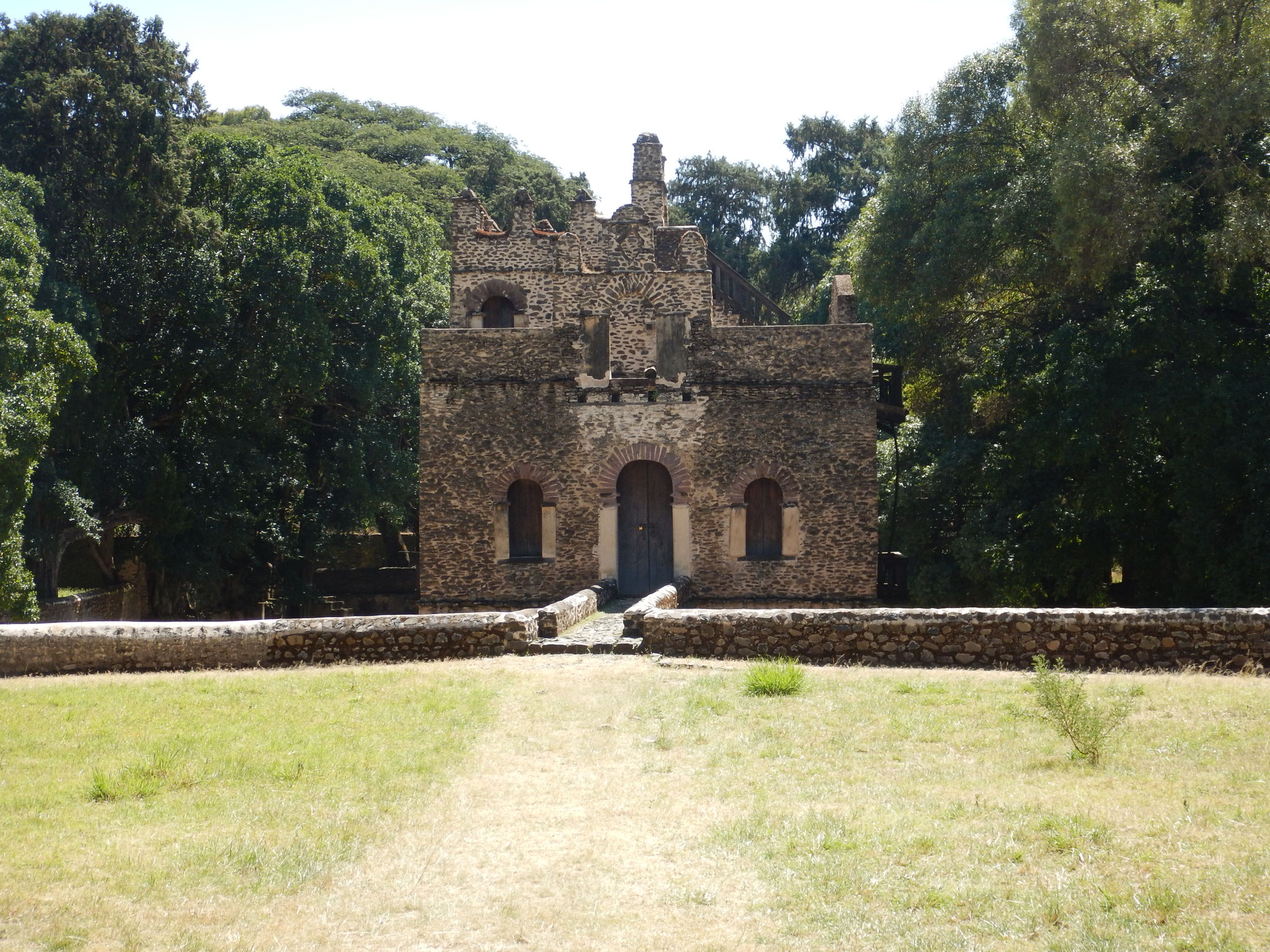 Voyage Séjour Road Trip Trek Trekking Randonnée en Ethiopie. Visite de Gondar en Ethiopie. La piscine de Fasilidas
