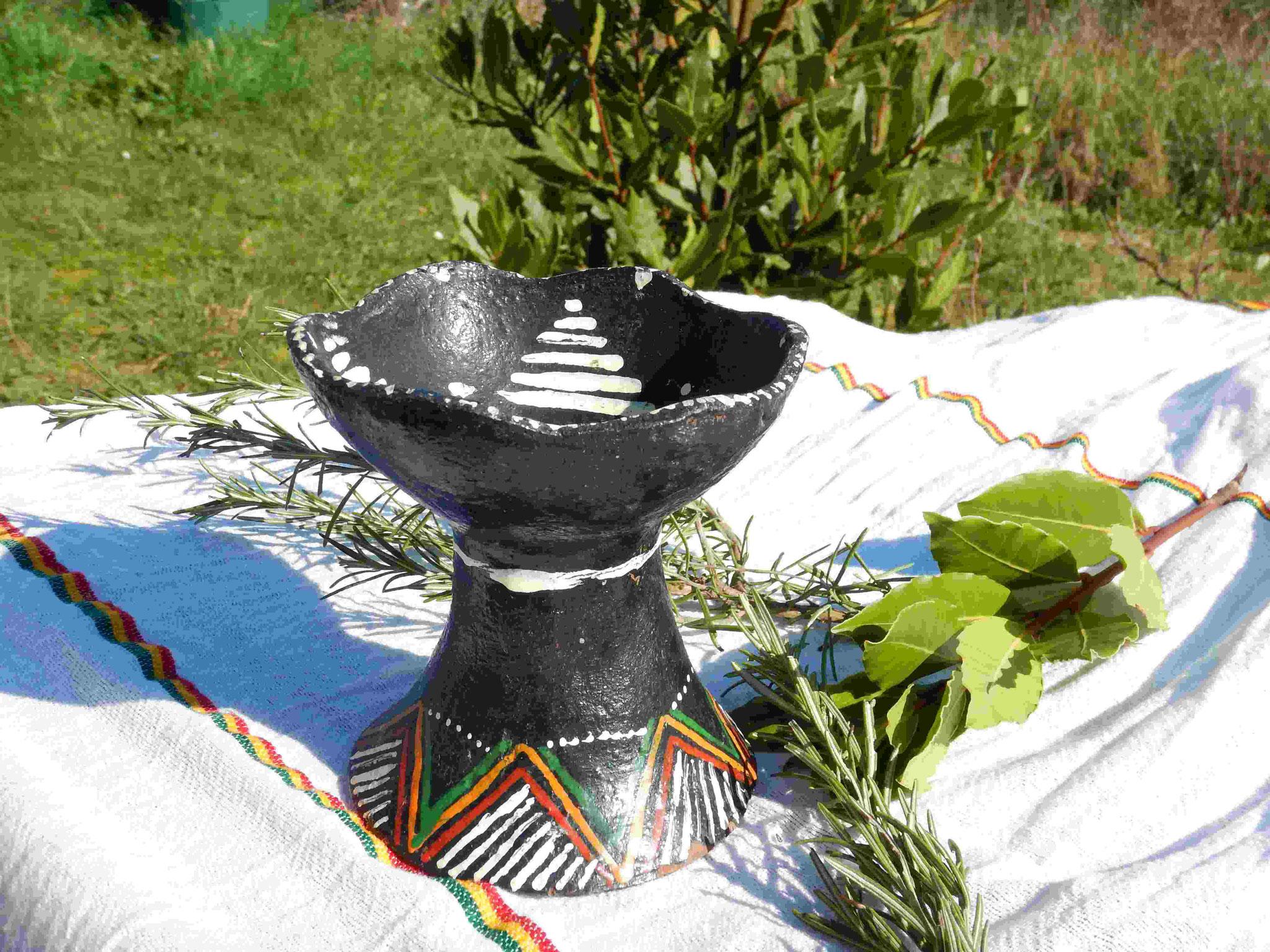 Pot encens Ethiopie Artisanat ethiopien Epices éthiopiennes made by locals solidaire équitable artisanat textils voyage Ethiopie 1
