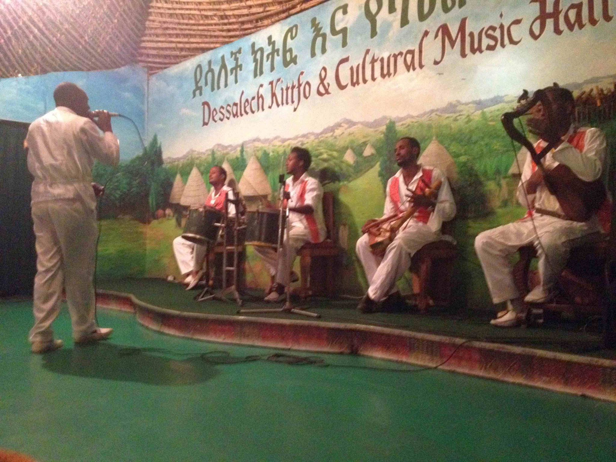 Les chanteurs éthiopiens prennent la relève