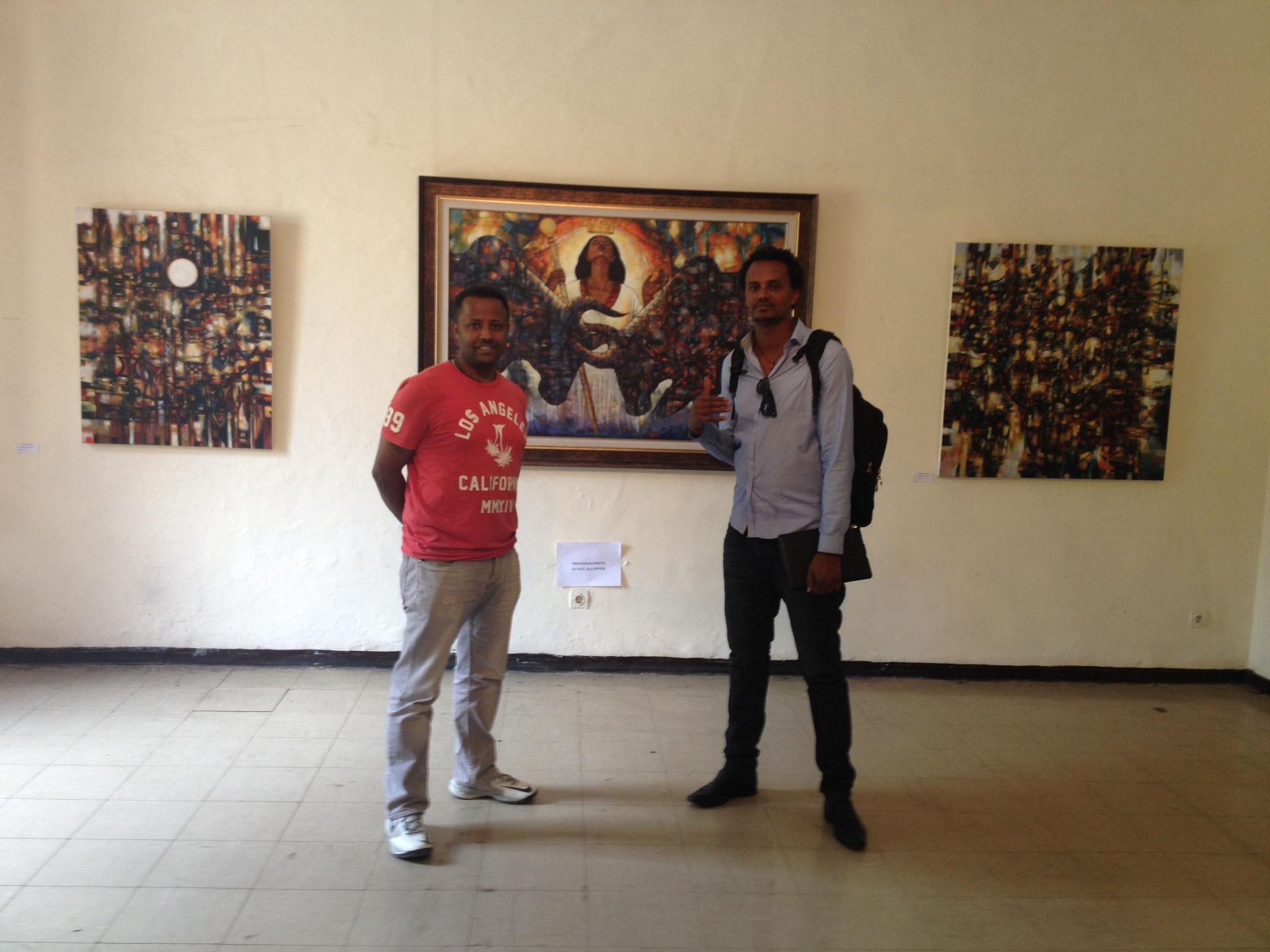 Robel Berhane Mawuli-Ethiopie Art Ethiopien Artistes Peintres  Association Plateforme Commerce  Artisanat Ethiopien Solidaire Equitable en Ethiopie Made in Ethiopia