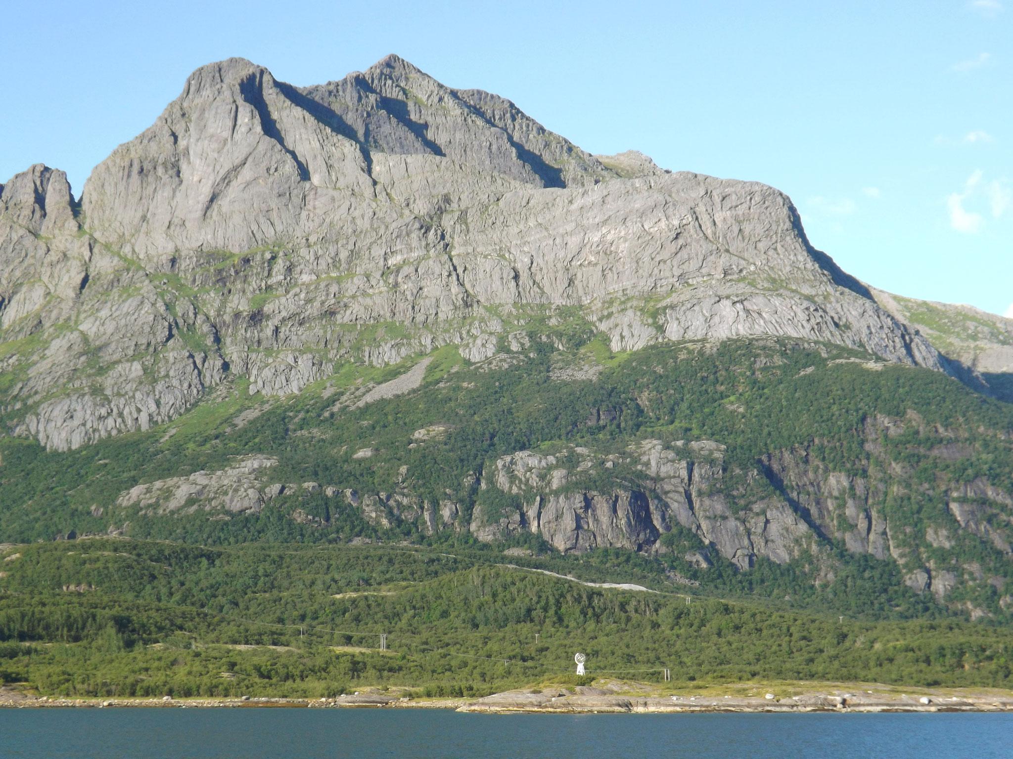 Kystvei nach Bodø, Polarkreis