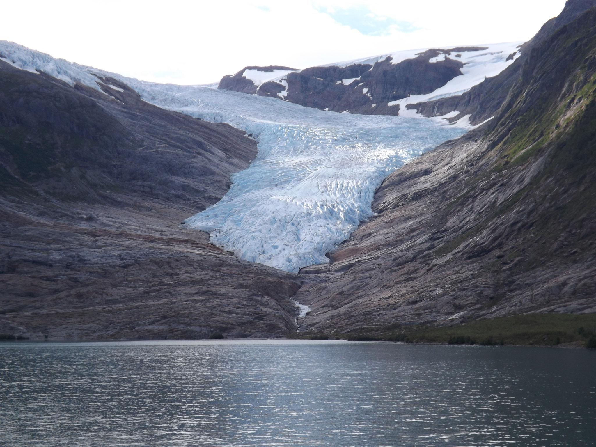 Kystvei nach Bodø, Gletscherzunge Svartisen