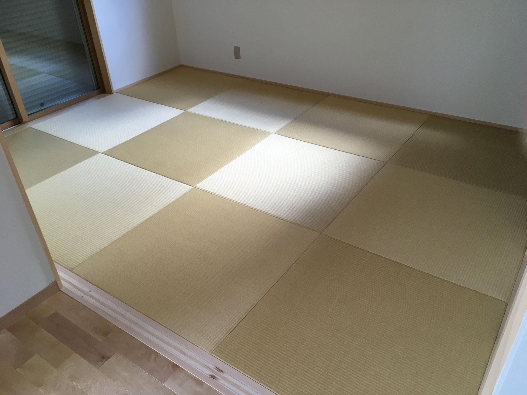 和紙畳 清流ちゅら02 黄金色