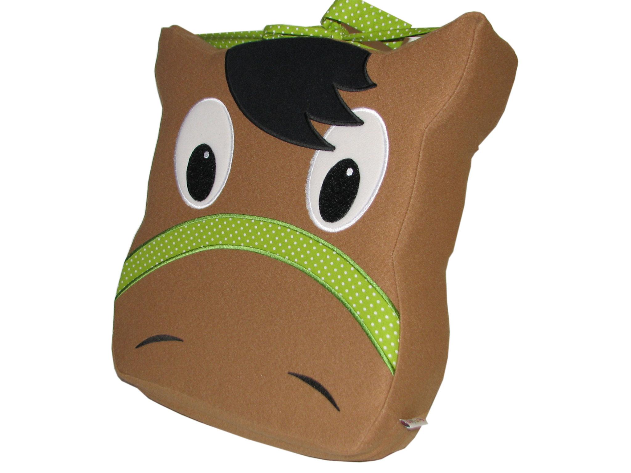 Pferd grün