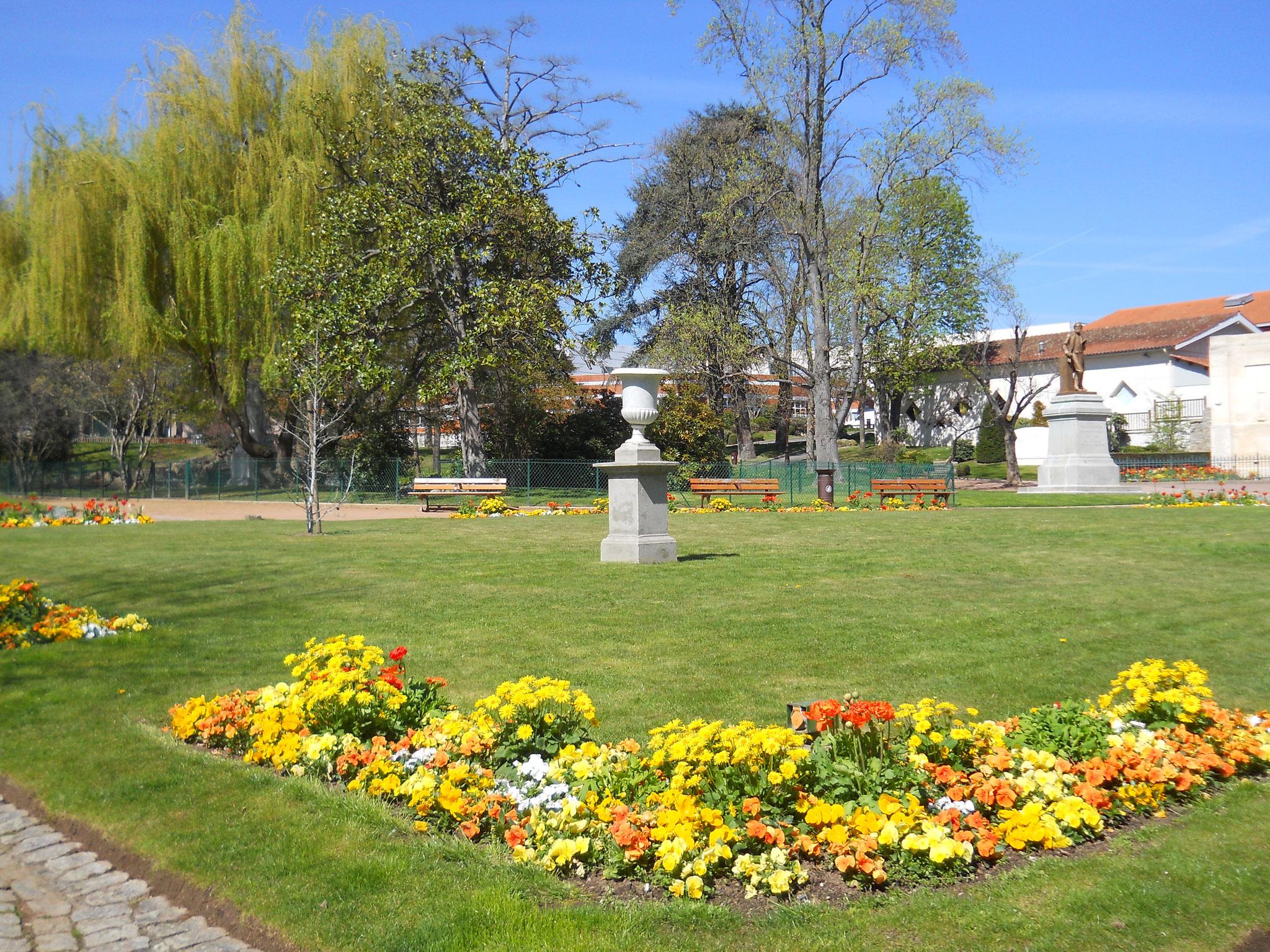 jardin d'Allard à Montbrison