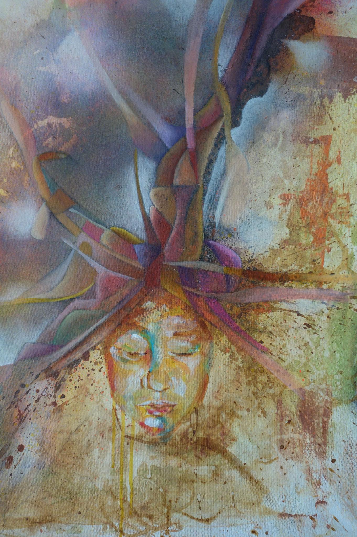 Colorful Dreams II, 2015, 60 x 80 cm, Acrylic on Canvas