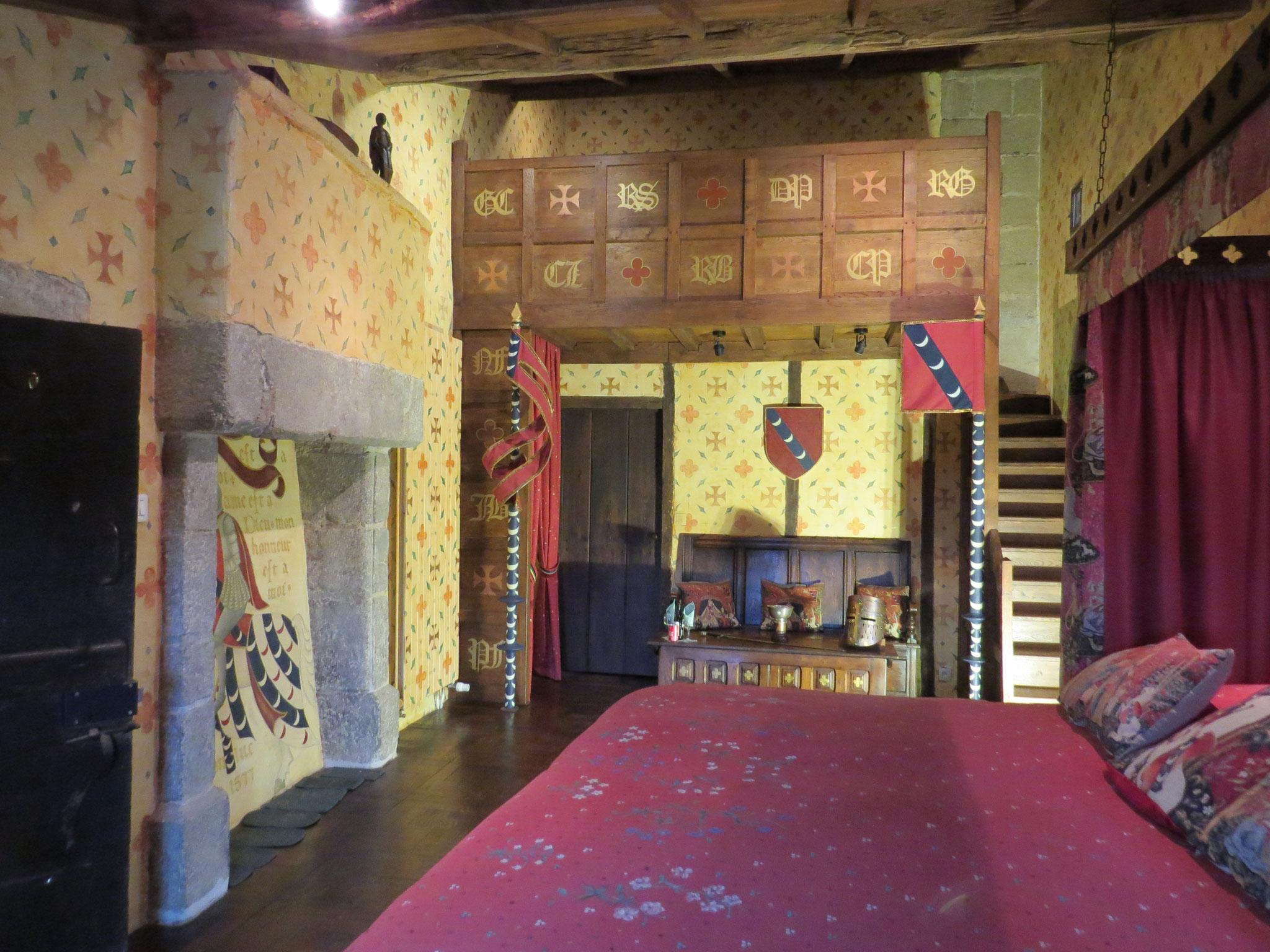Suite famille authentique Chambre du Tournoi