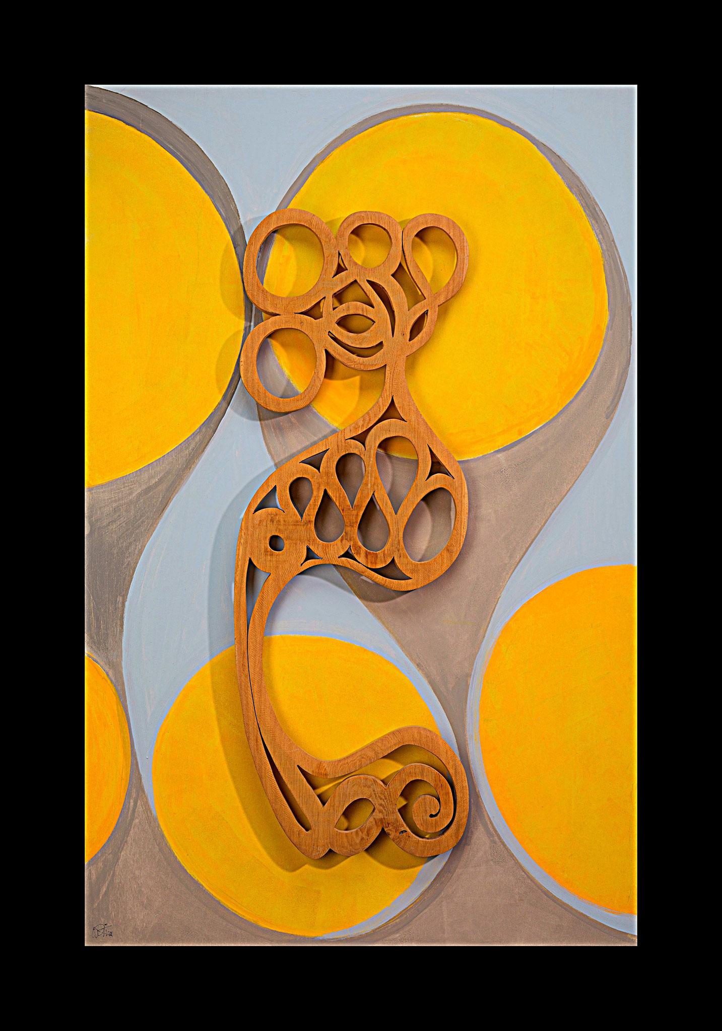 Gelust ! 160 h - 103 cm b   loops/desire