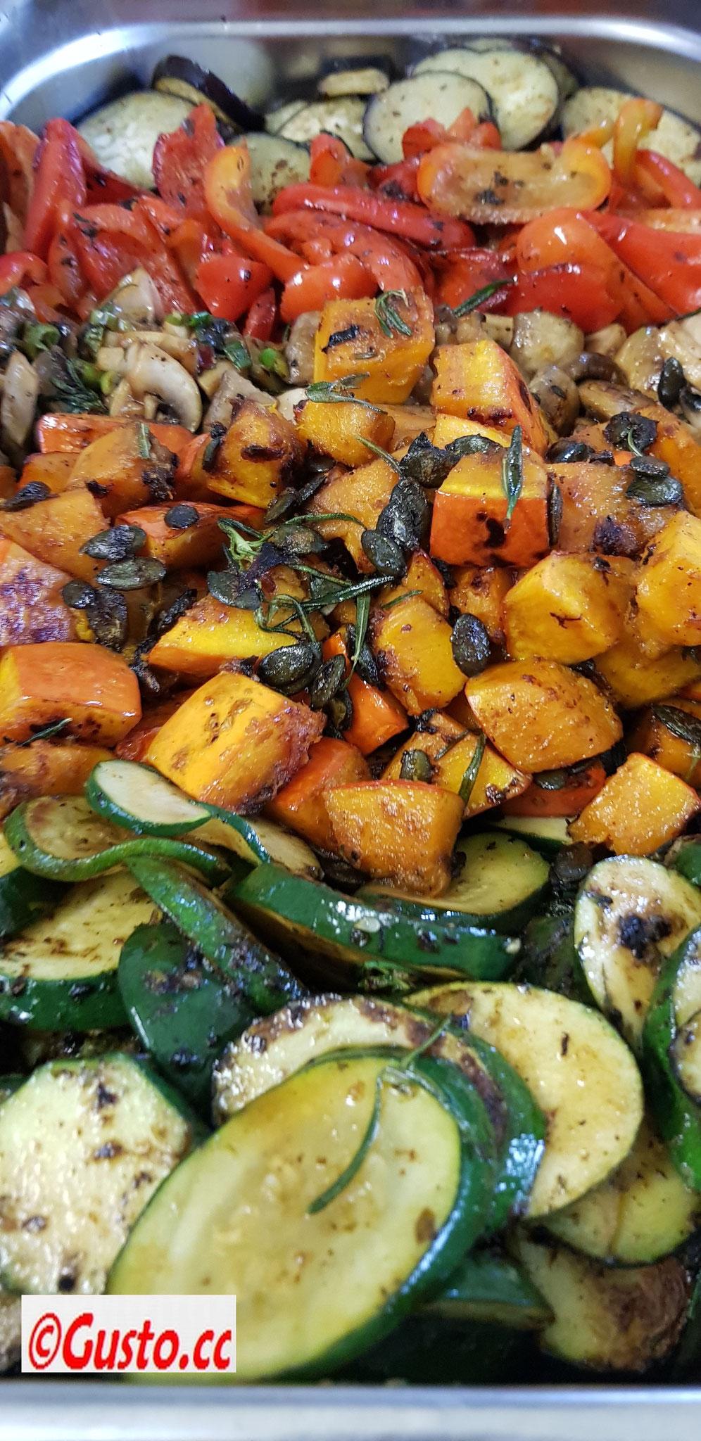 frische Gemüse der Saison