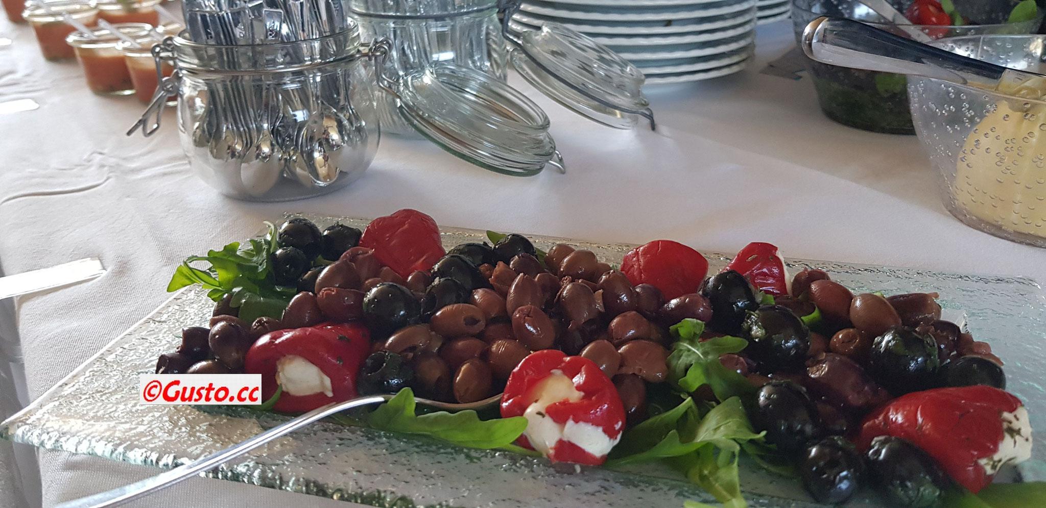 Erstklassische Olivenauswahl