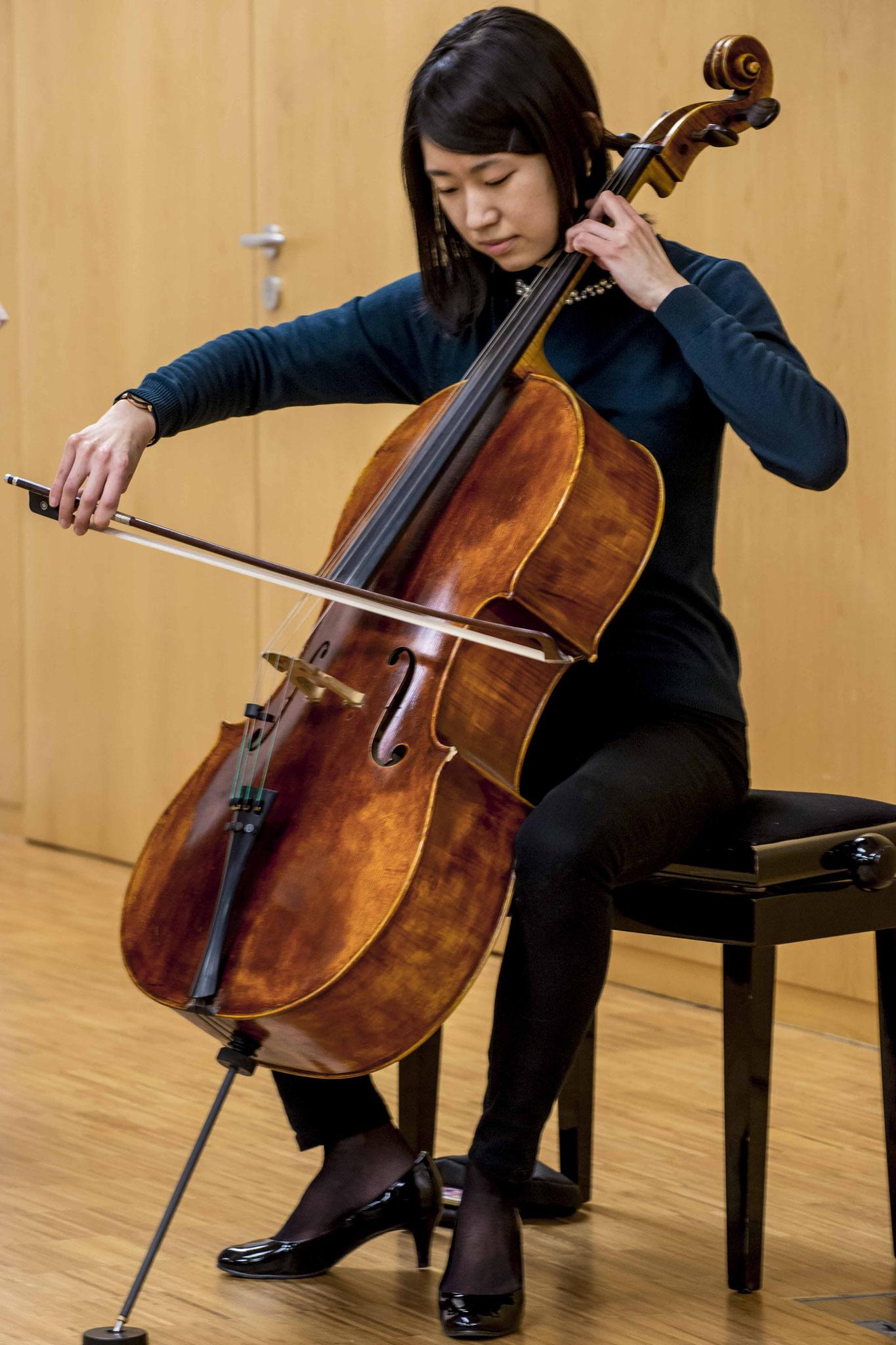 Madoka Yoshida, Staatstheater Kassel, begleitete den geistlichen Impuls