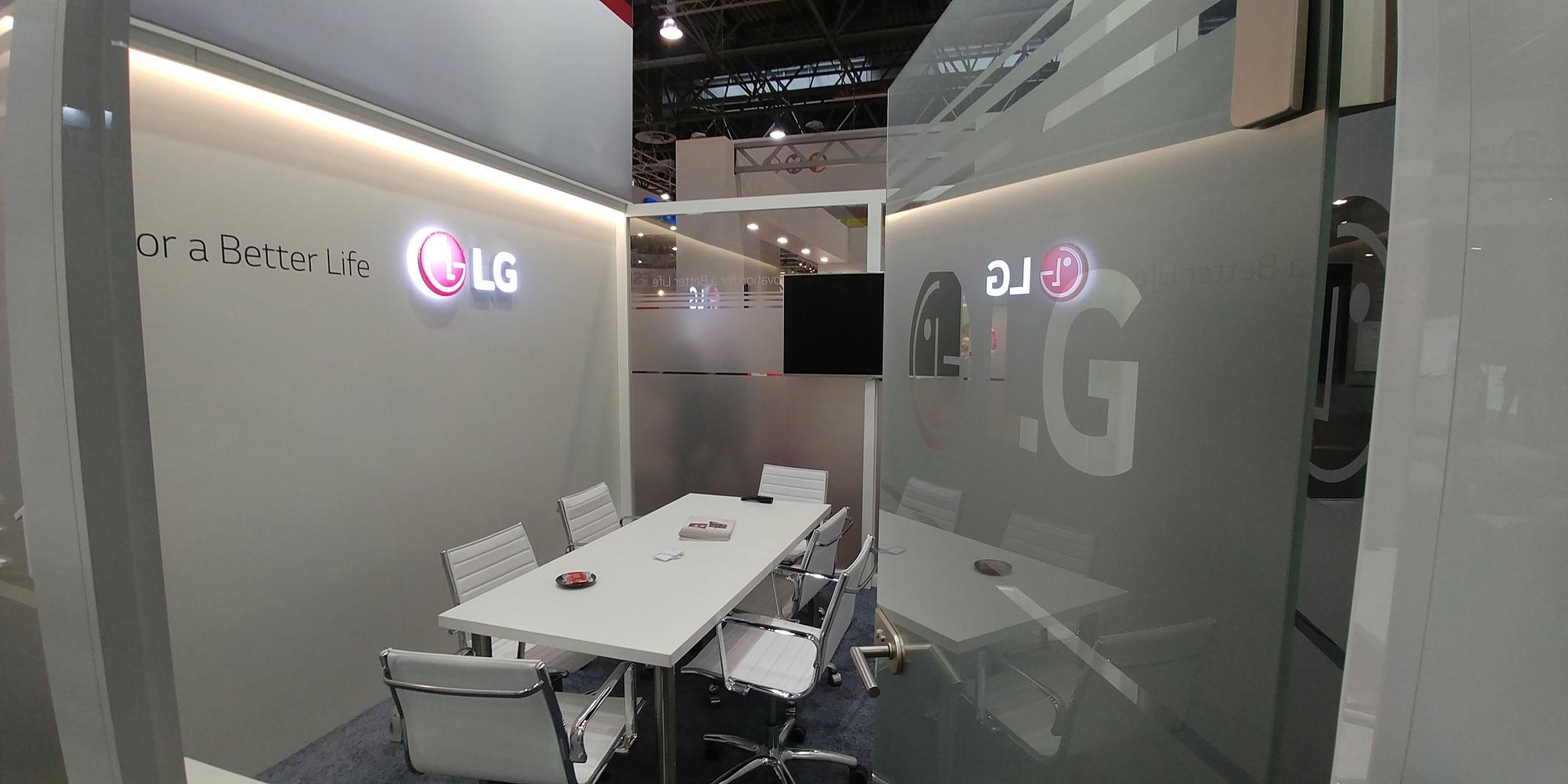 LG Electronics auf der Medica 2017 in Düsseldorf