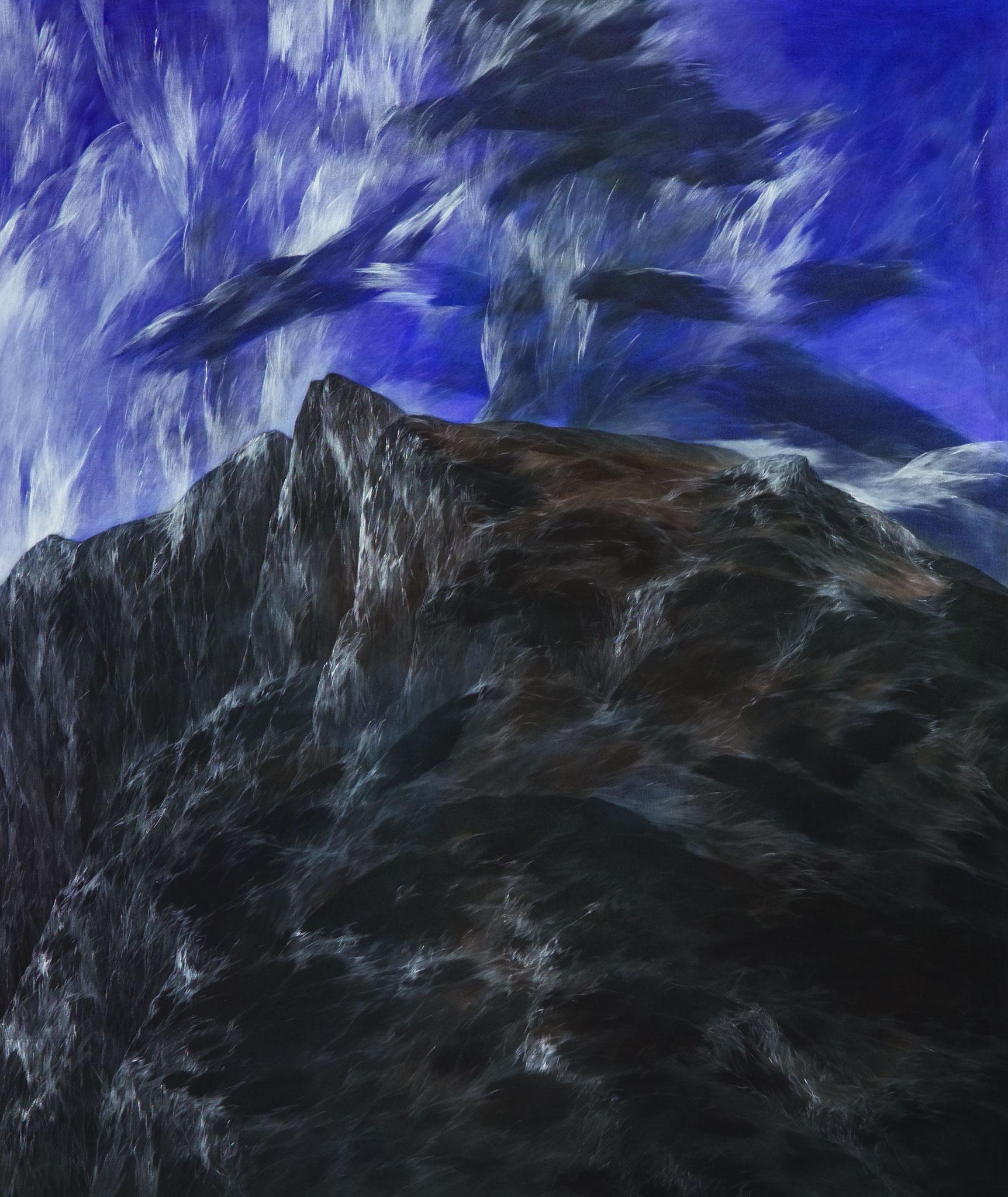 Josef Taucher, Zwielicht 1, 2004, Öl/Molino, 180 x 150 cm, Foto: W. Krug