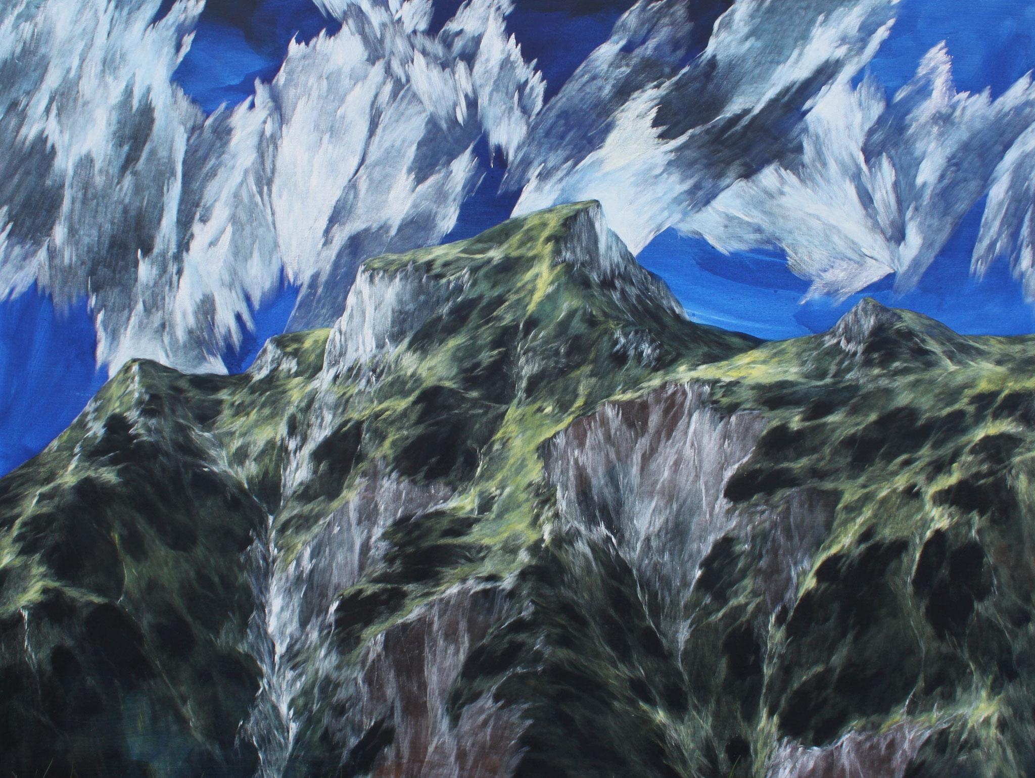 Josef Taucher, Aufwind 21, 2015, Öl/Molino, 180 x 150 cm © Josef Taucher
