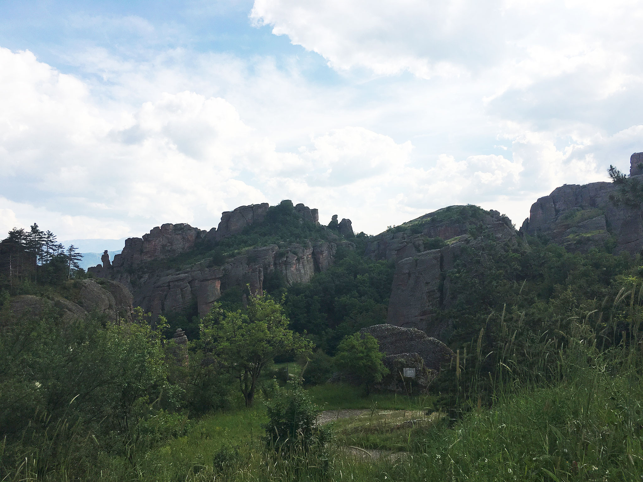 Felsen von Belogradchik, Bulgarien