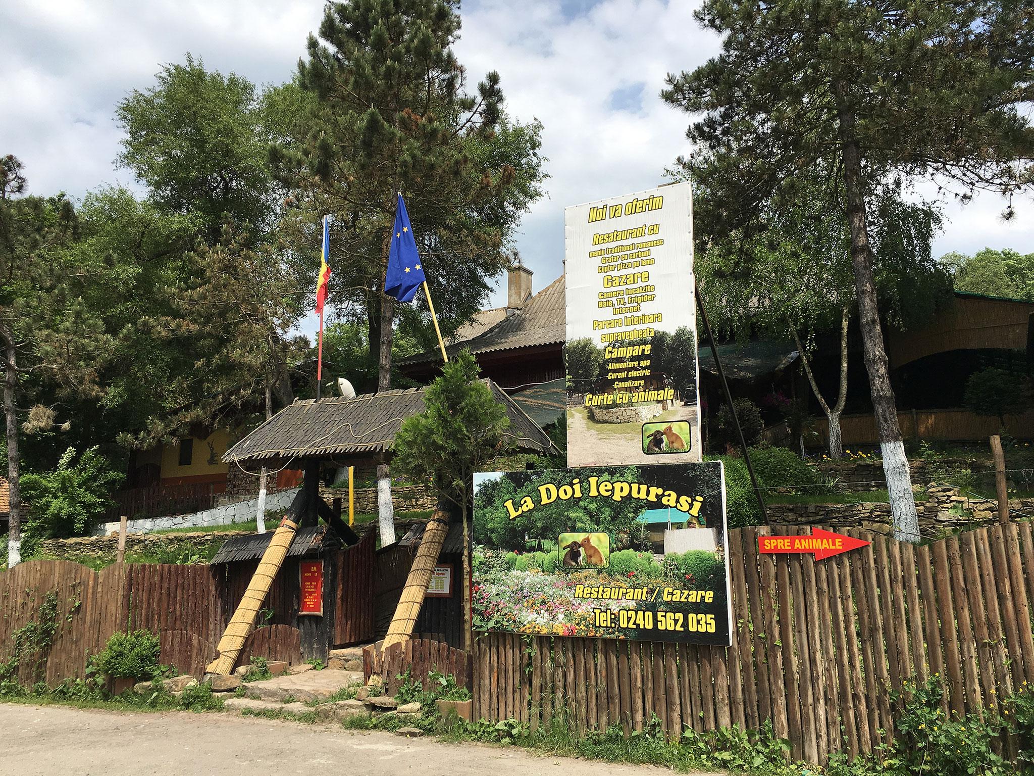 Unser Quartier in Babadag, Rumänien