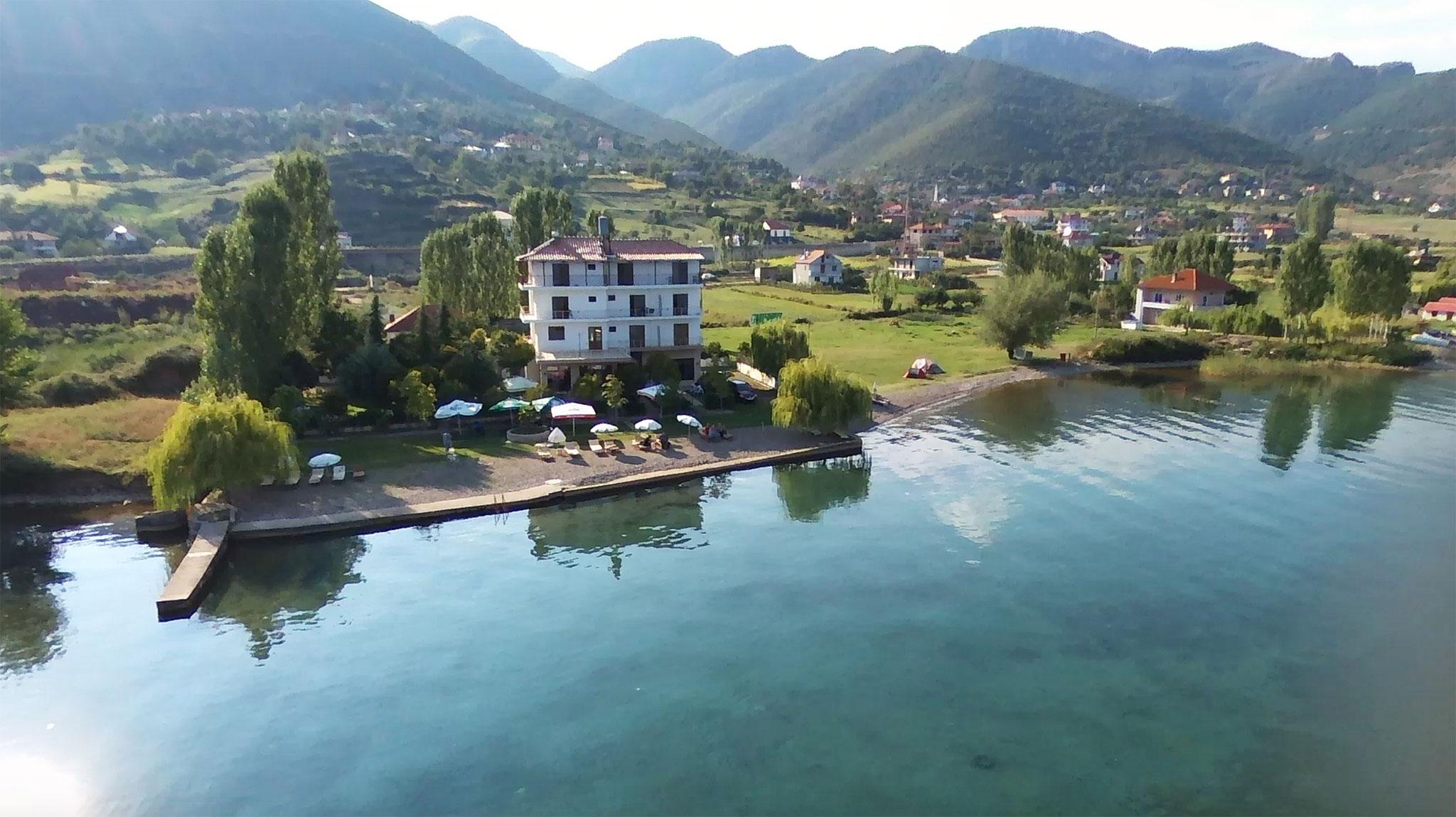 Unser Quartier am Ohridsee