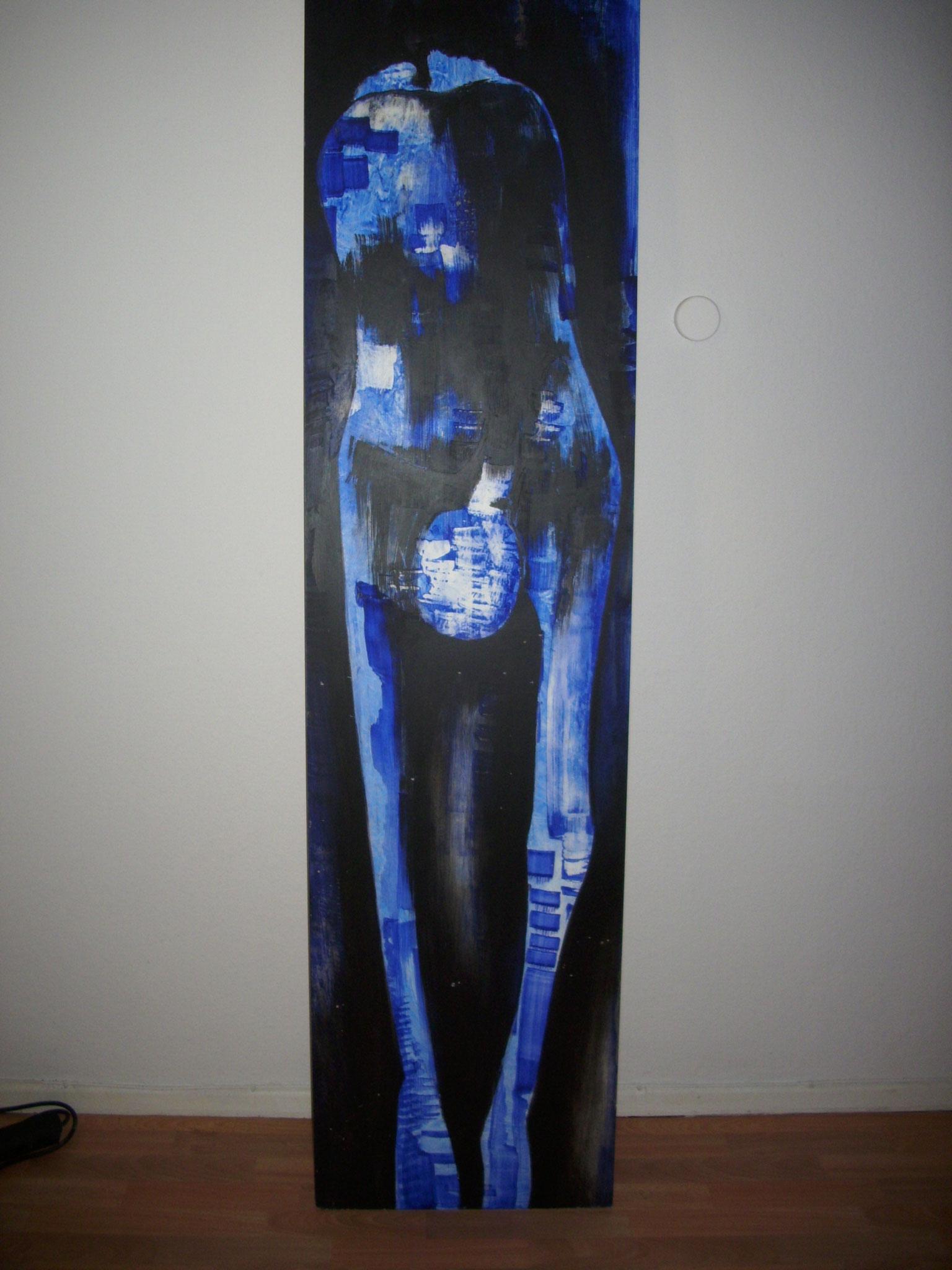 Acryl auf Hartfaser  215cm x 50cm