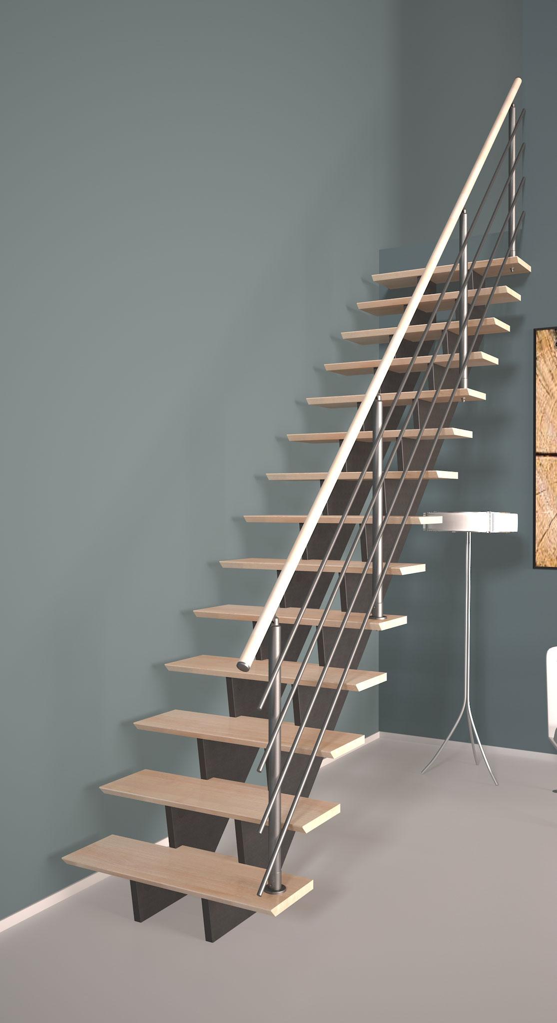 Biax Escalier droit