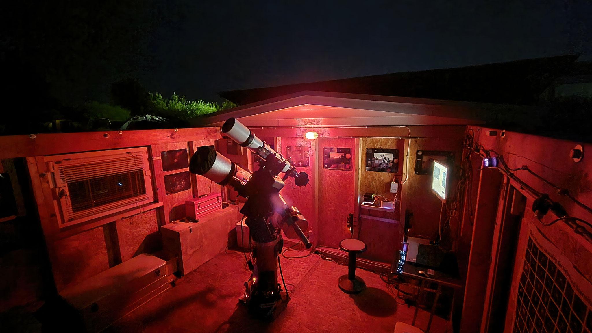 Sternwarte im Juli 2021