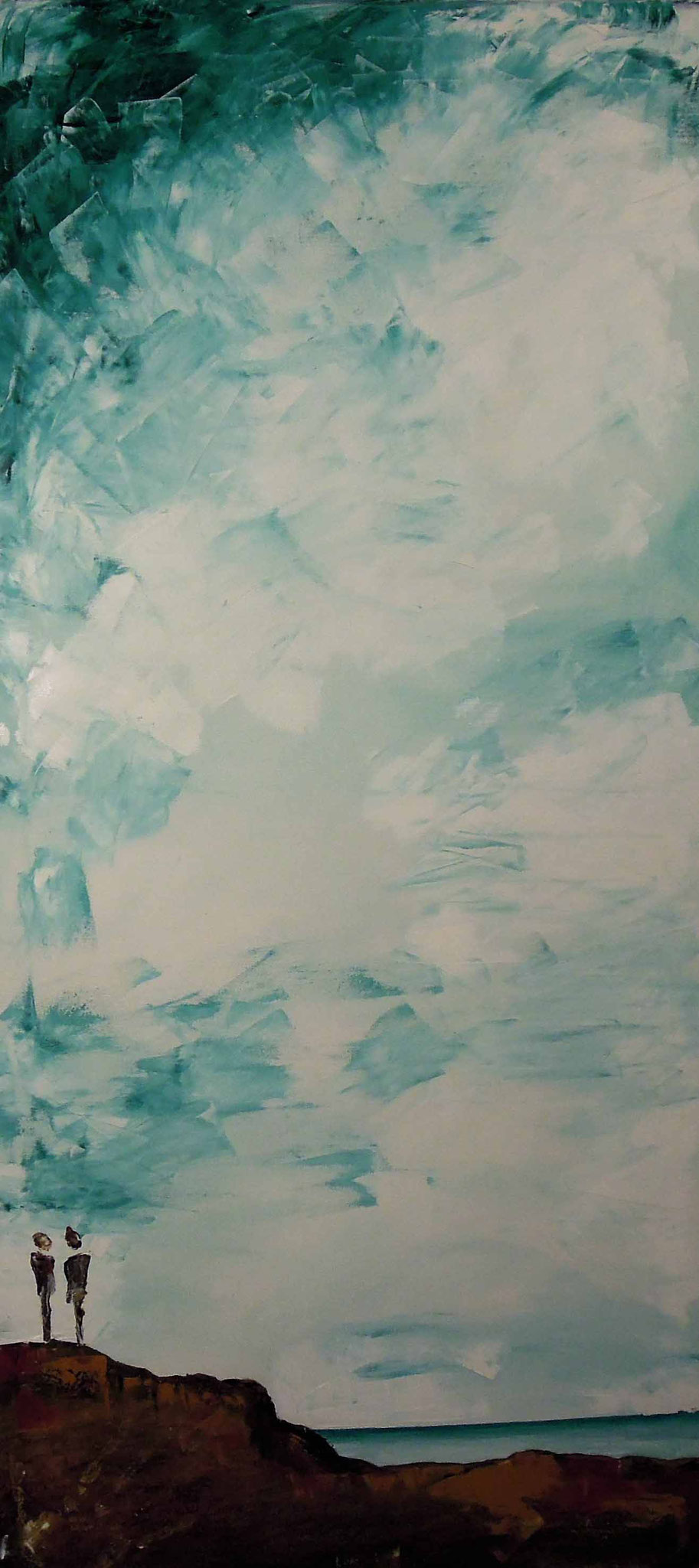 Himmelhoch - Öl auf Leinwand 60 x 130 cm