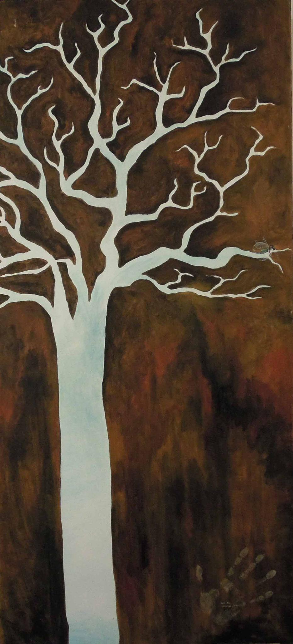 Waldfee - Öl auf Leinwand 60 x 130 cm