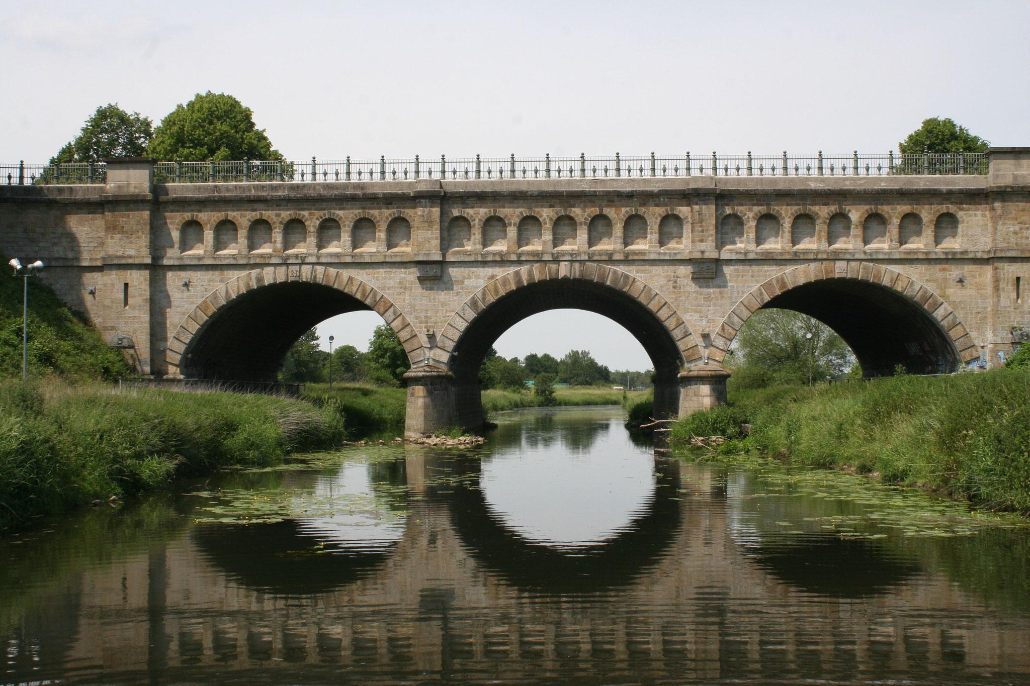 """Historische Brücke der """"Alten Fahrt"""""""