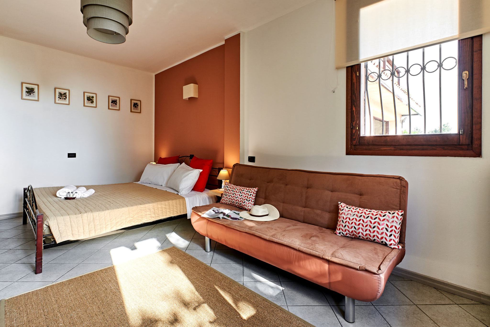 Casa San Giorgio Holiday House - Bedroom Holiday House AIR BNB Bed Breakfast