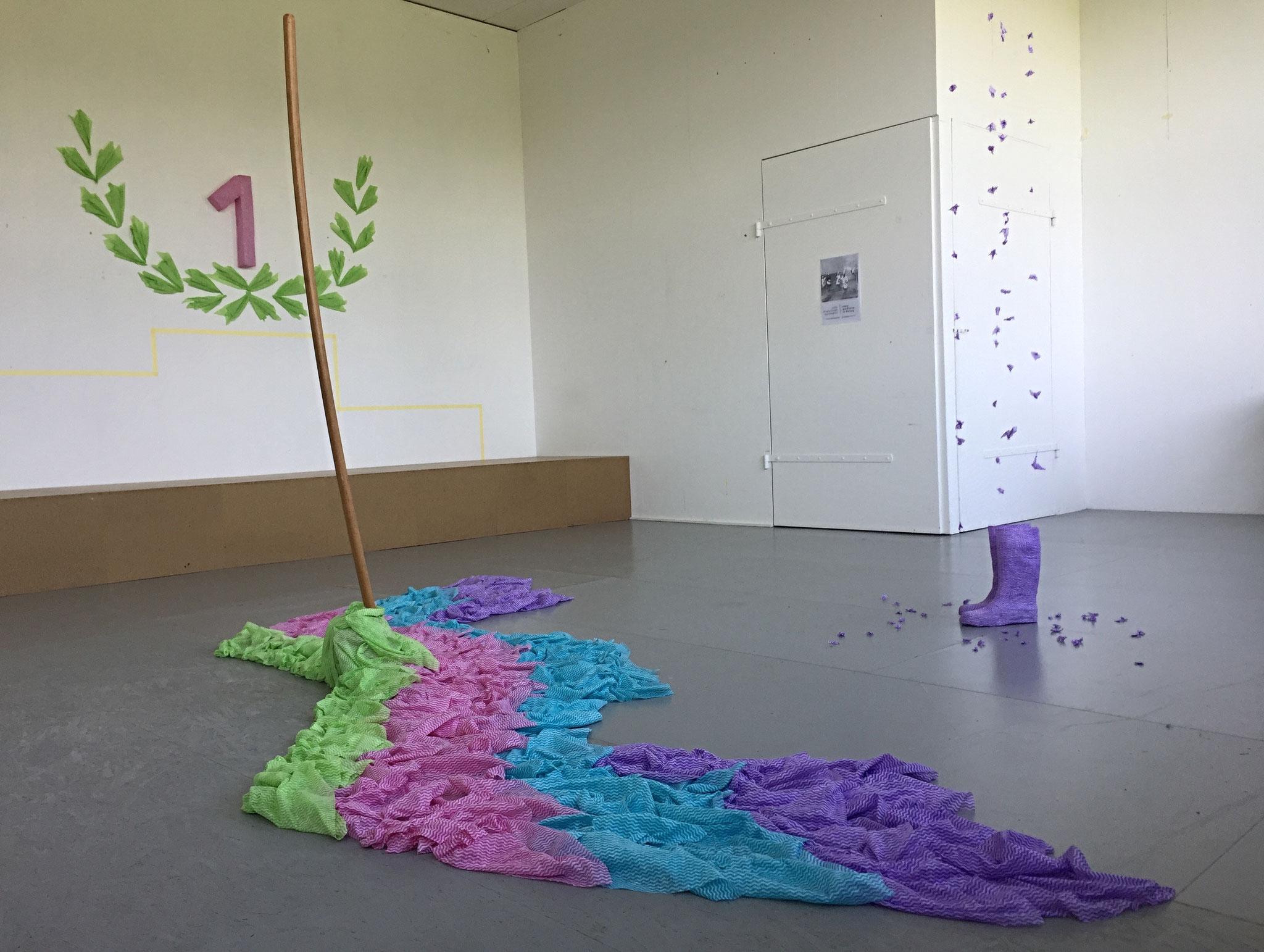 Installation 2018, Kunsthalle Kleinschönach