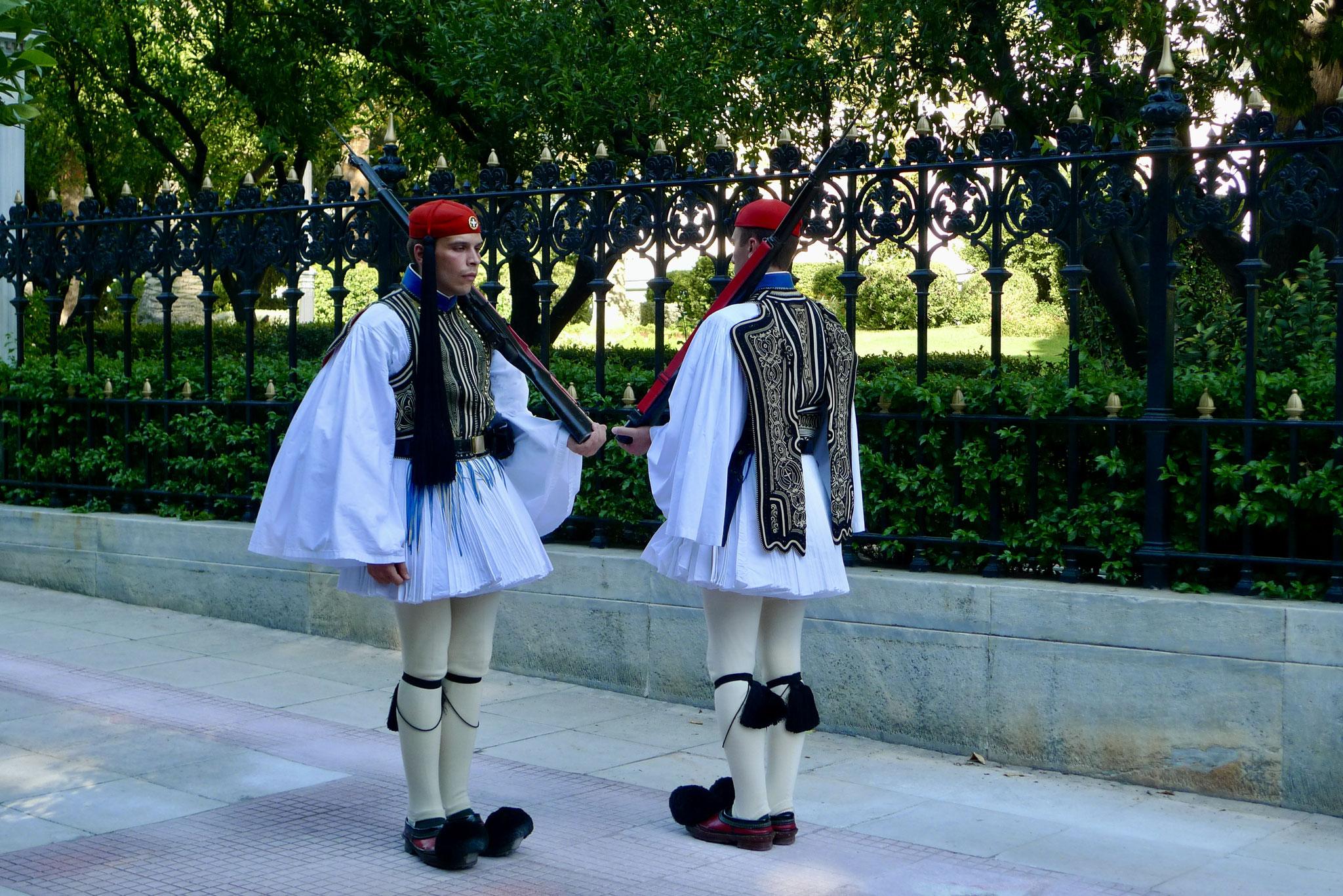 Evzones (Presidential Guards) 2